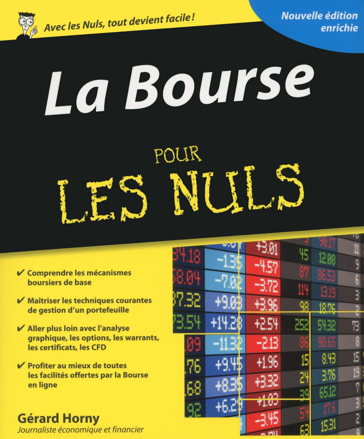 La Bourse Pour les Nuls, 3e édition (ebook)