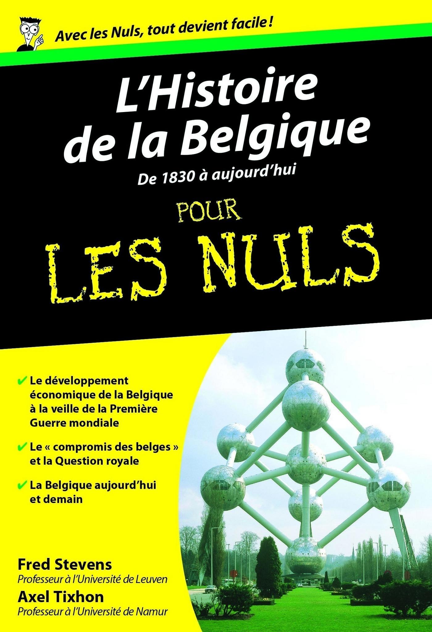 L'Histoire de la Belgique, Tome 2 Poche Pour les Nuls (ebook)