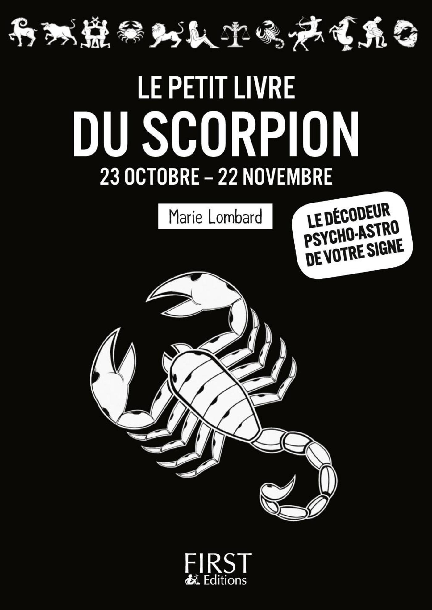 Le Petit Livre du Scorpion (ebook)
