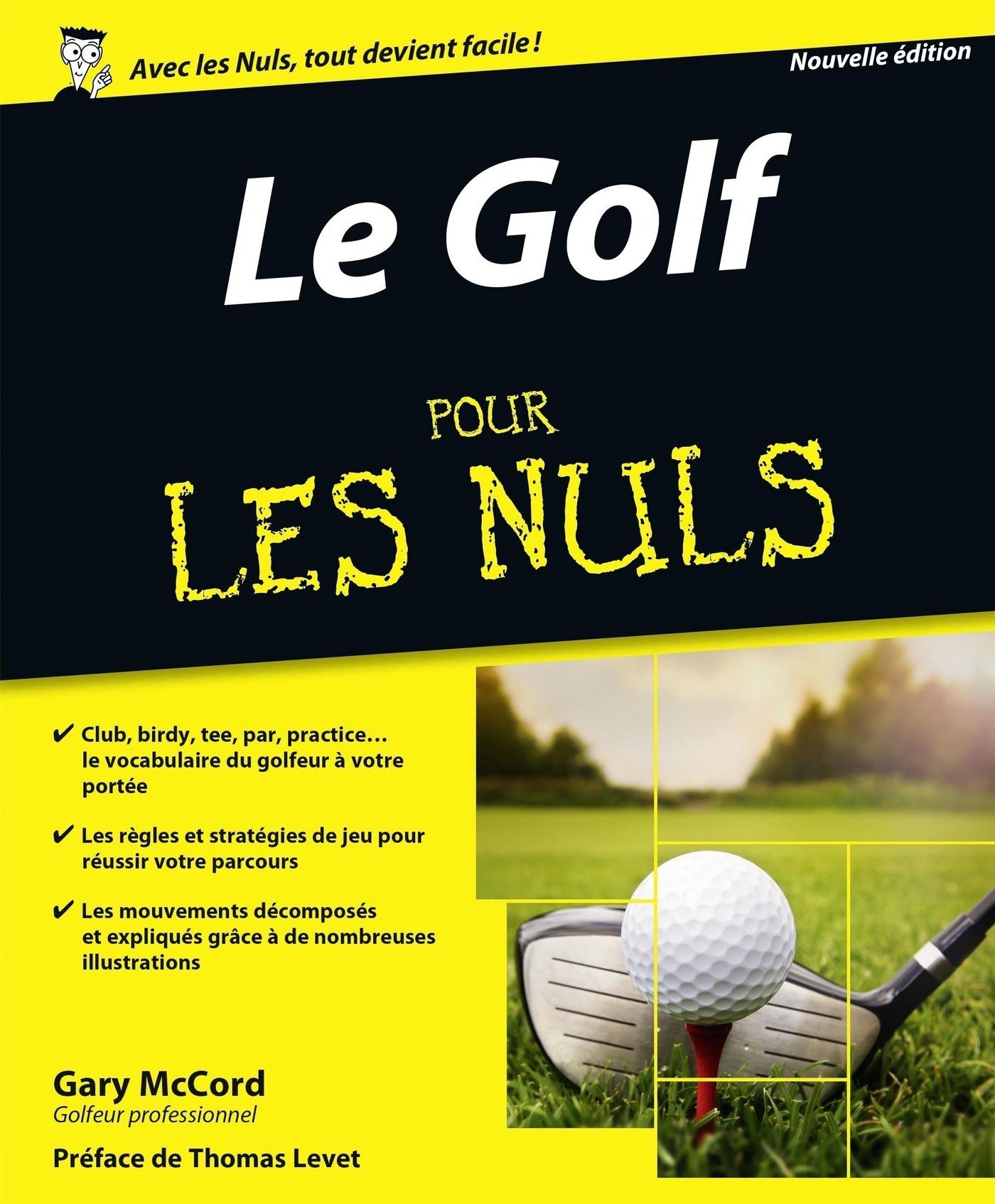 Le Golf pour les Nuls, nouvelle édition (ebook)