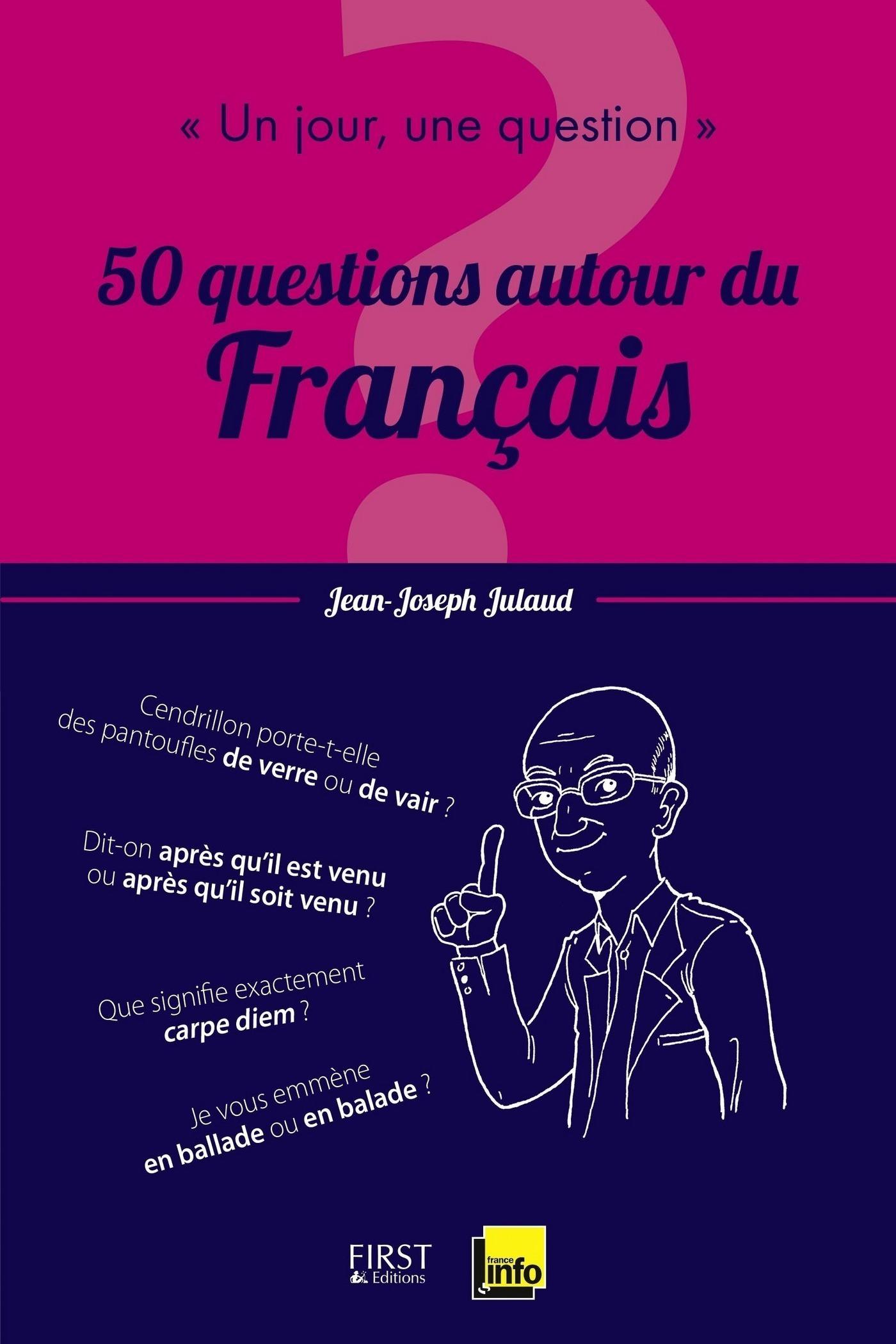 Un jour, une question : 50 leçons autour du francais