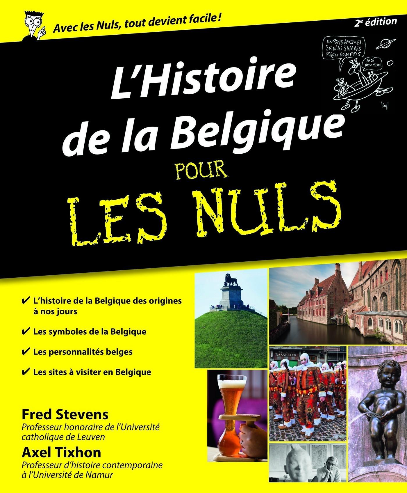 Histoire de la Belgique Pour les Nuls, 2ème édition (ebook)