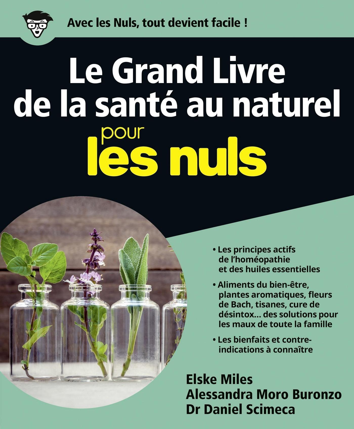 Le Grand livre de la santé au naturel pour les Nuls (ebook)