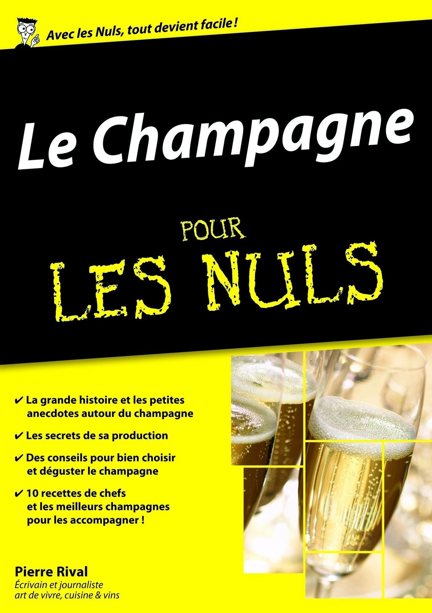 Le Champagne pour les Nuls, édition mégapoche (ebook)