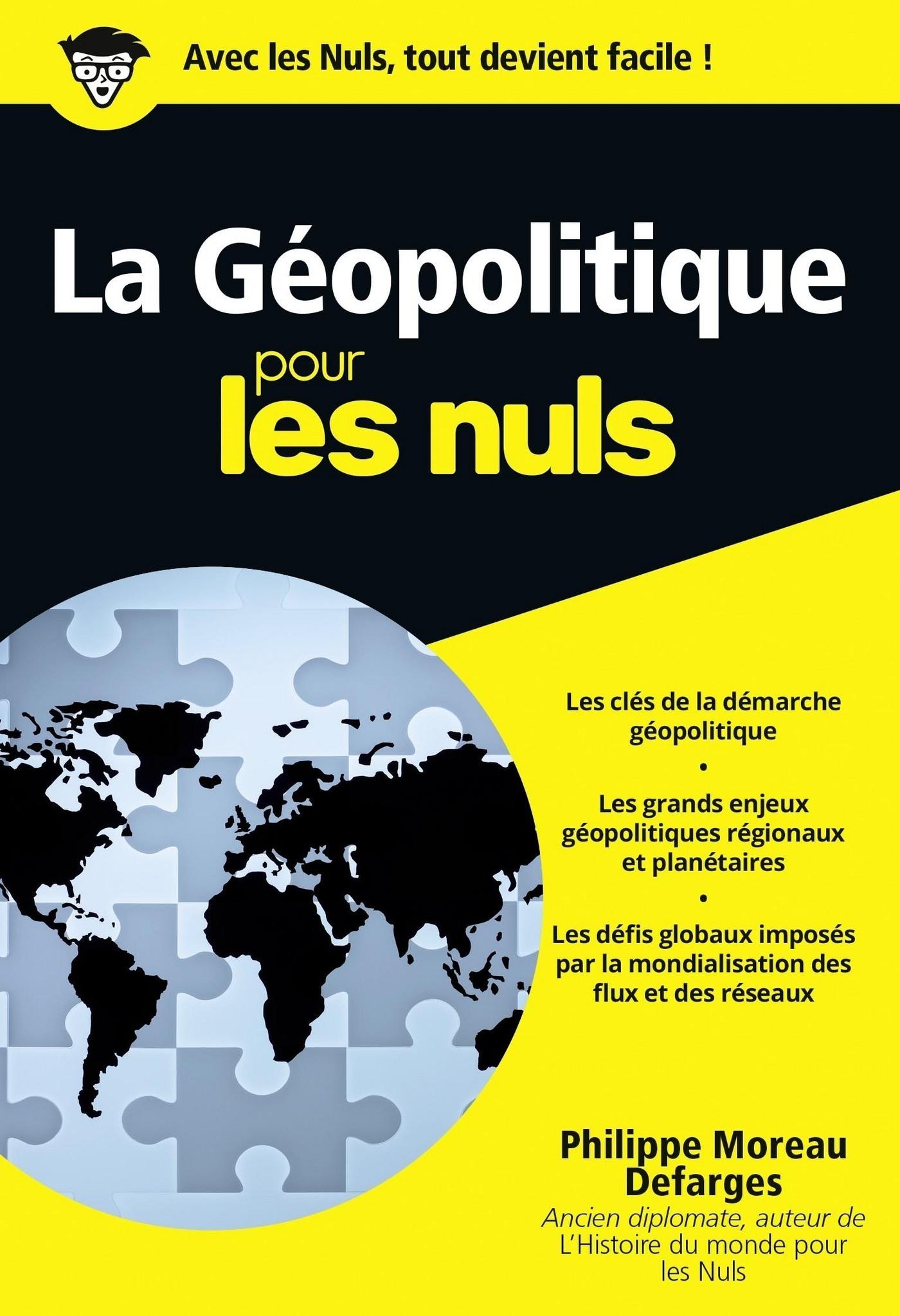 La géopolitique Pour les Nuls, édition poche (ebook)