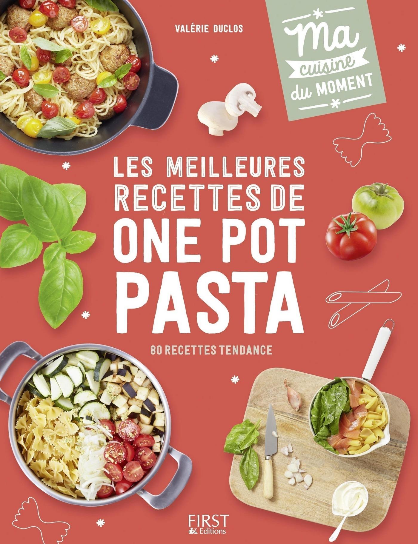 Les meilleures recettes de one pot pasta (ebook)
