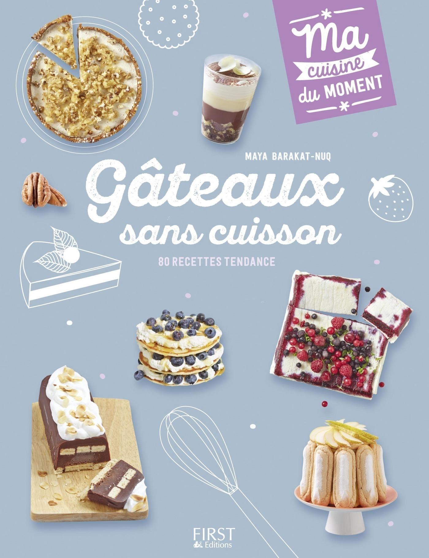 Gâteaux sans cuisson (ebook)