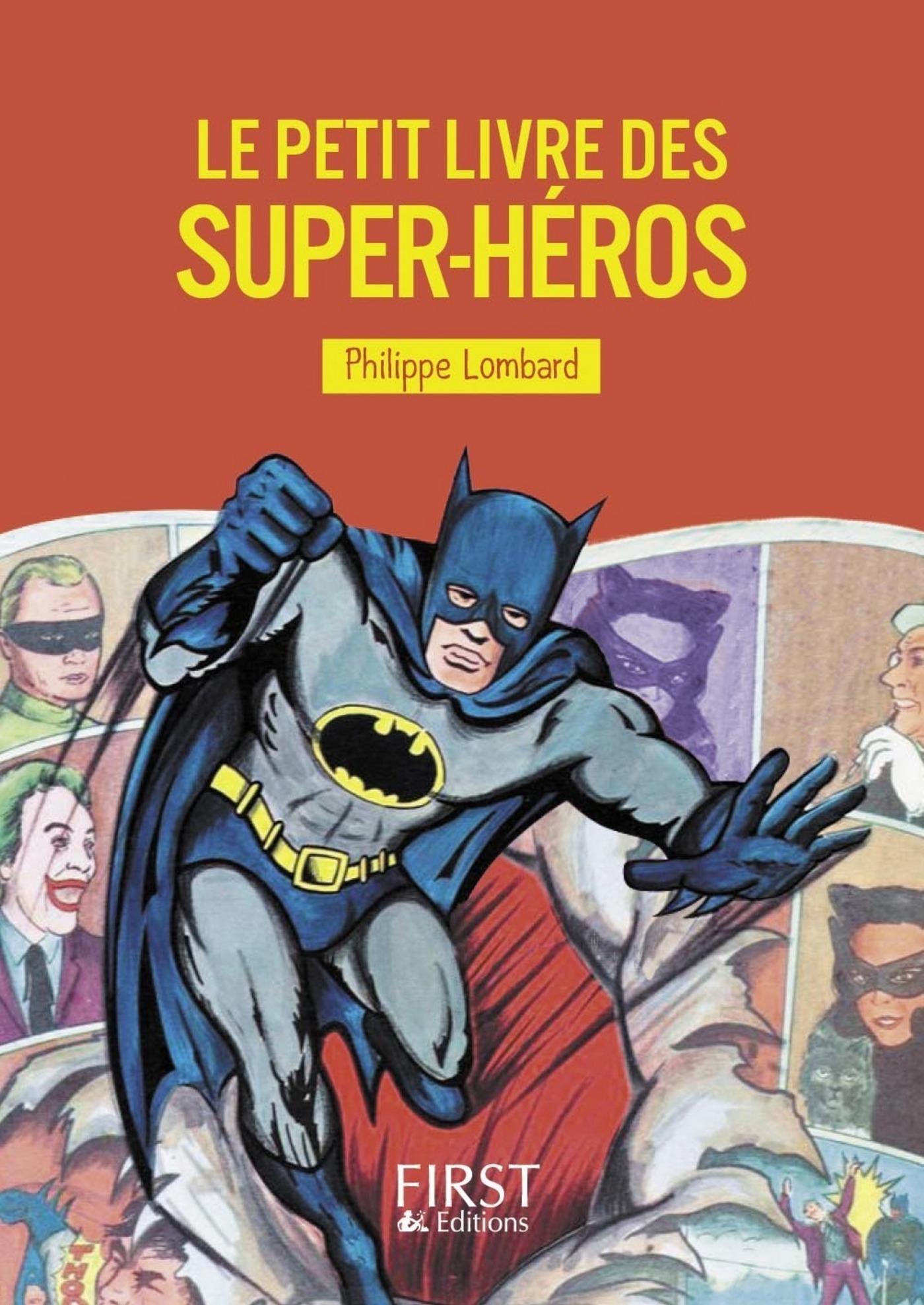 Le Petit livre des super-héros (ebook)