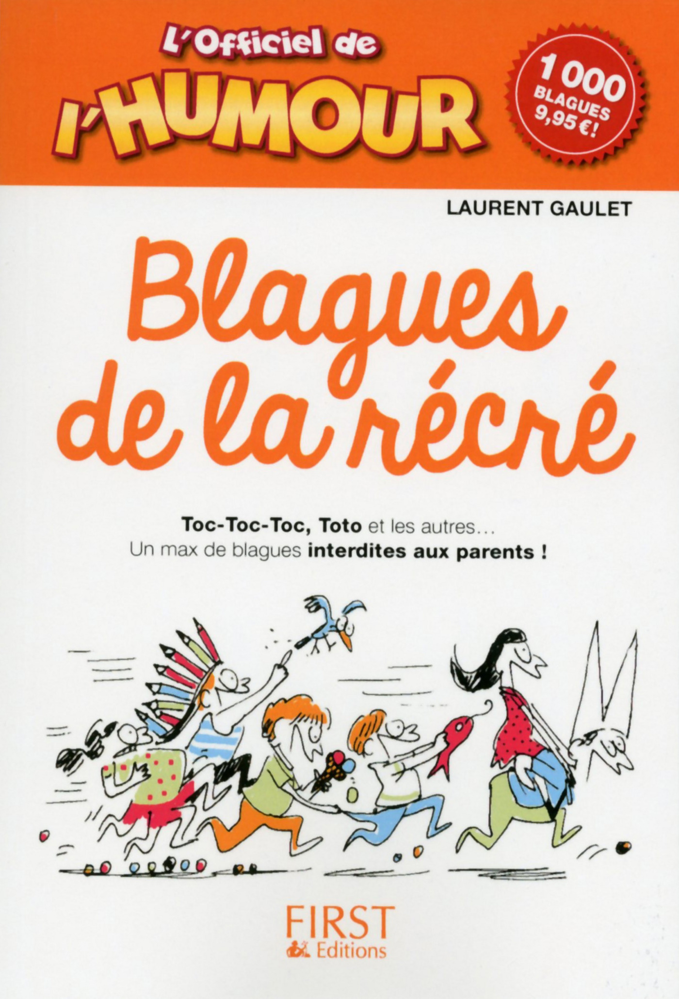 L'Officiel de l'humour - Blagues de la récré (ebook)