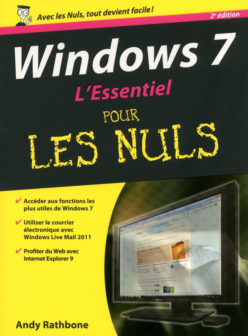 Windows 7, L'essentiel Pour les Nuls