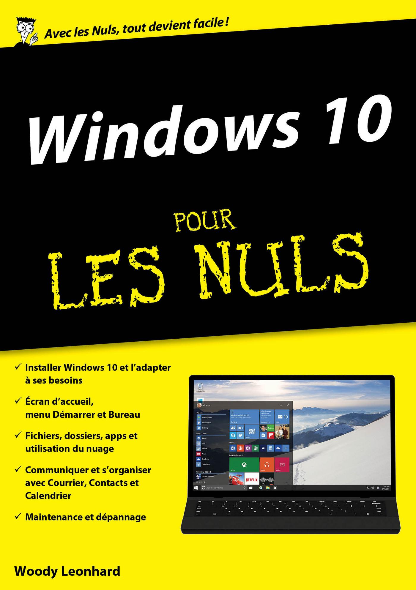 Windows 10 pour les Nuls mégapoche (ebook)