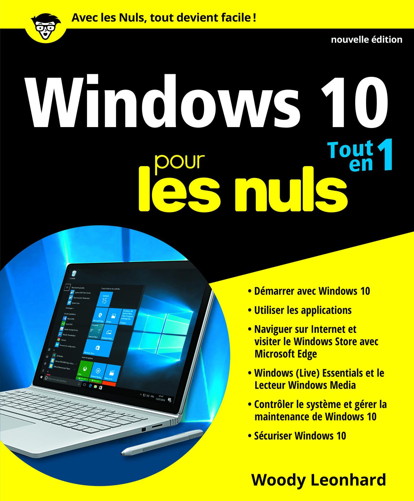 Windows 10 tout en 1 pour les Nuls, nouvelle édition (ebook)