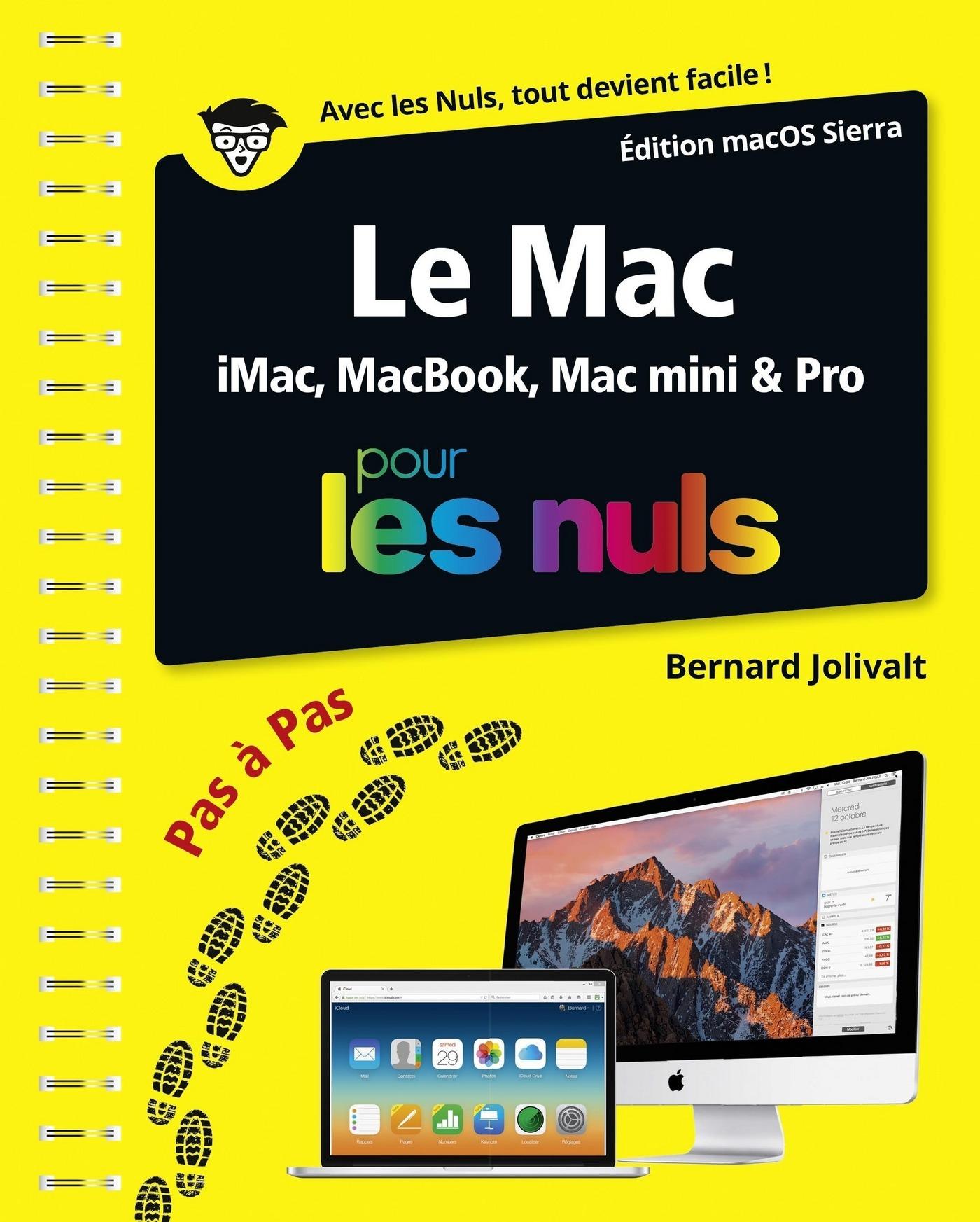 Le Mac ed OS X 10.12 pas à pas Pour les Nuls (ebook)
