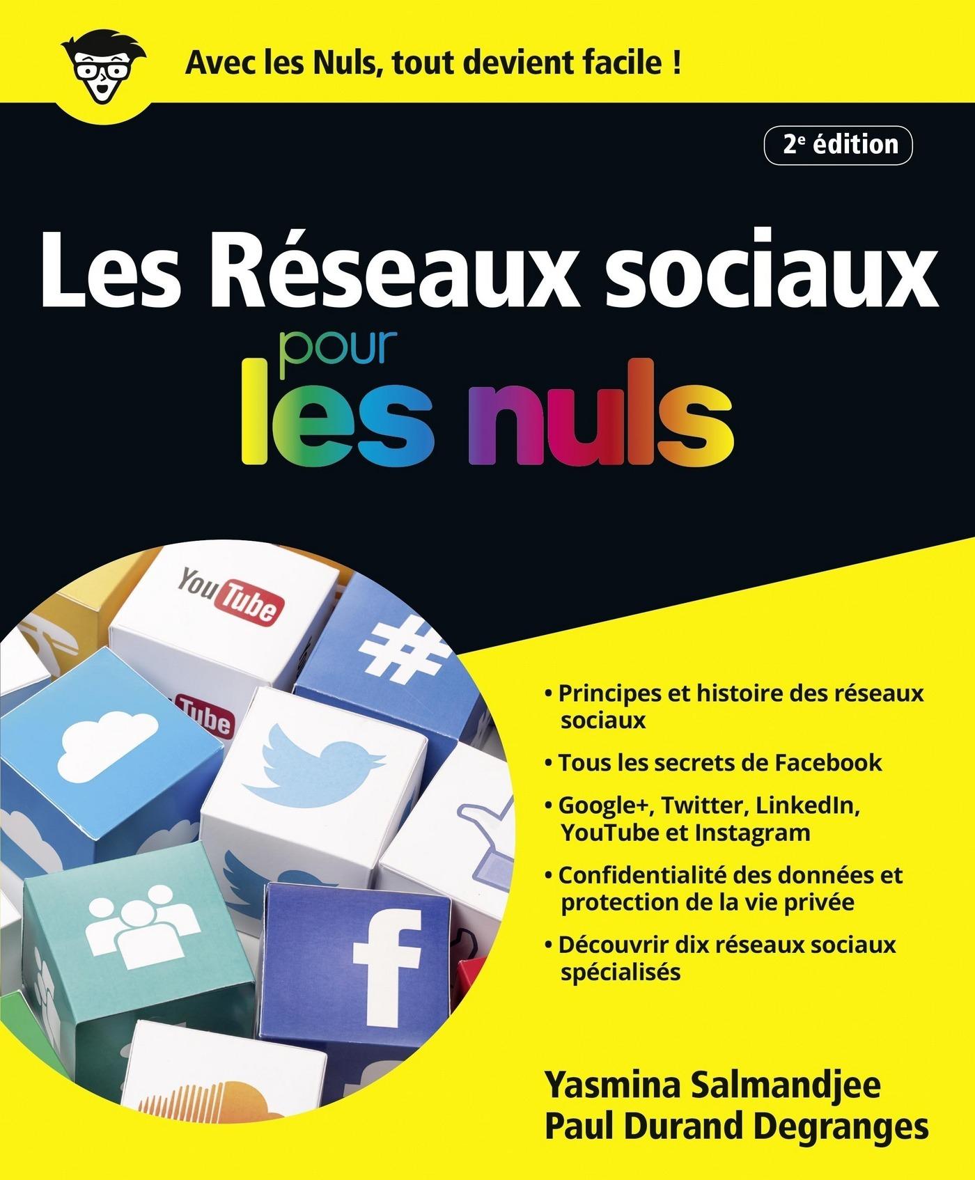 Les Réseaux sociaux pour les Nuls, Nouvelle édition (ebook)