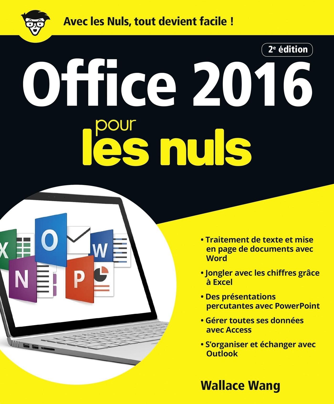 Office 2016 pour les Nuls grand format, 2e édition