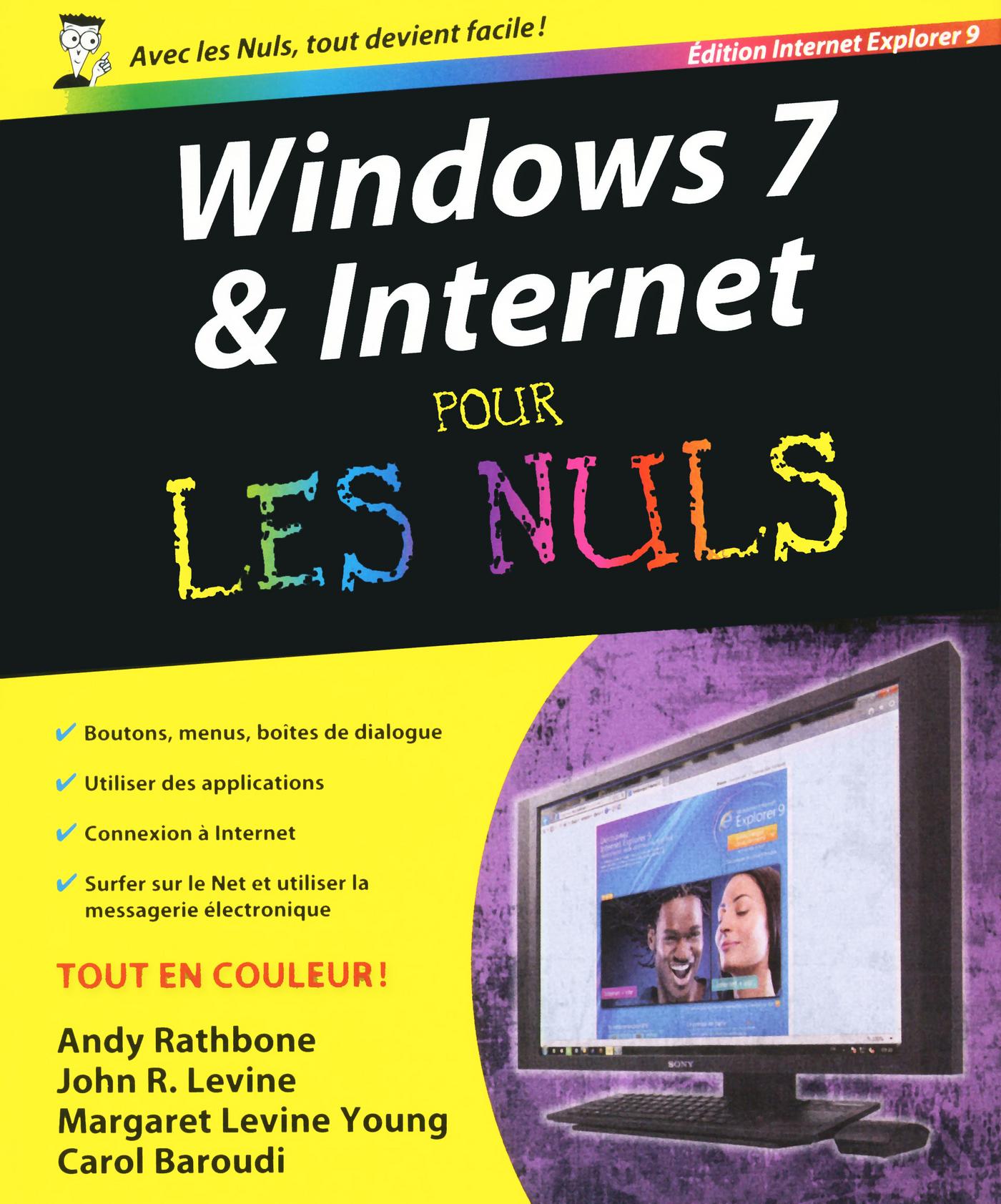 Windows 7 et Internet Explorer 9 Pour les Nuls