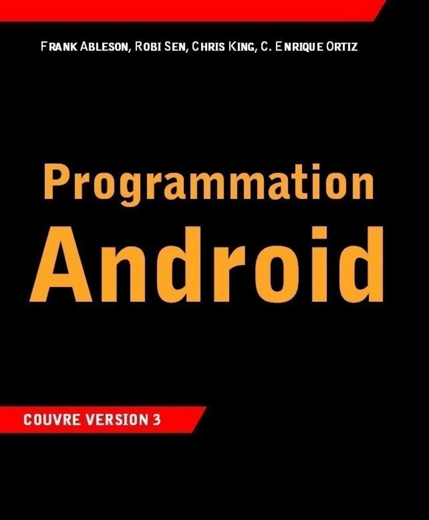 Programmation Androïd