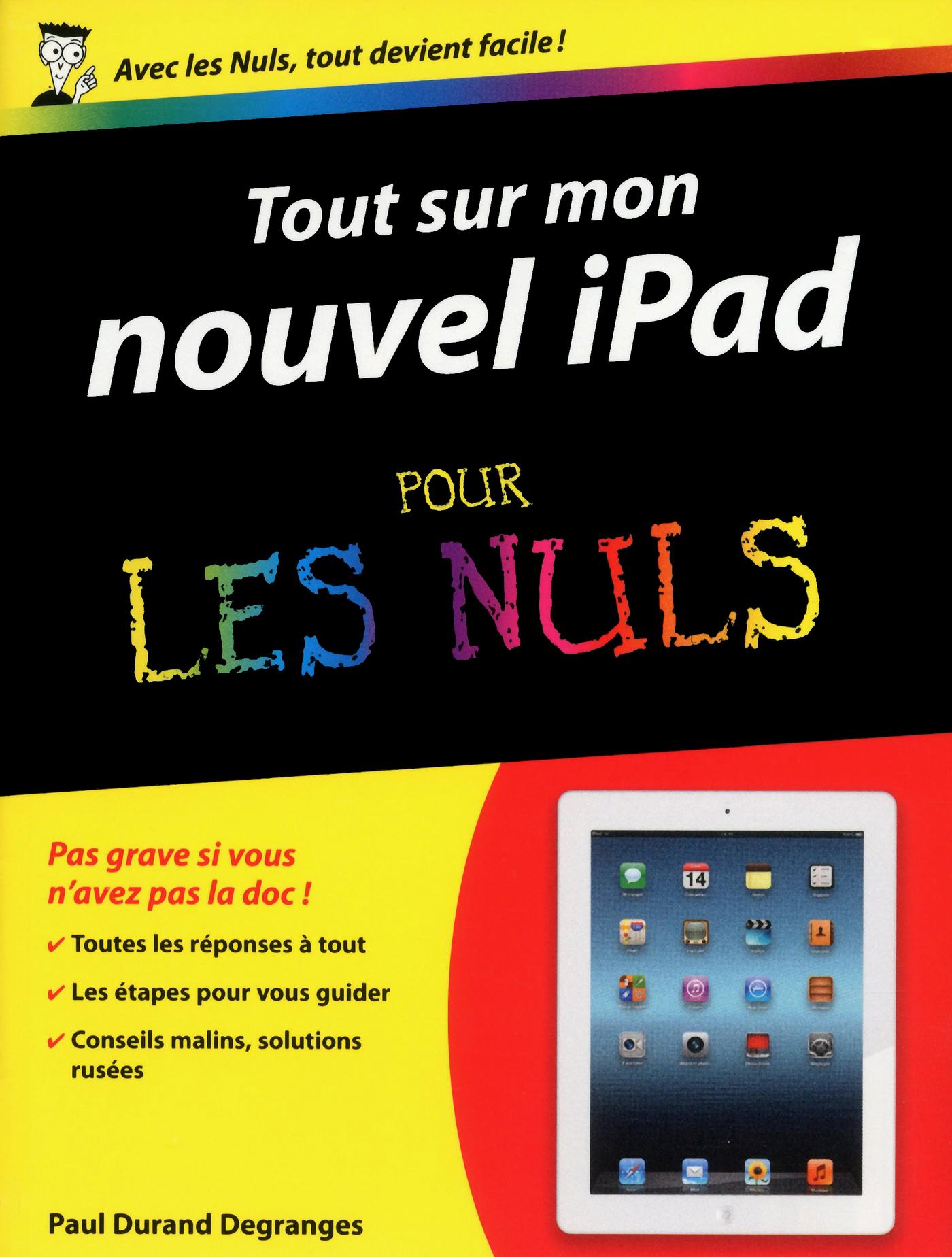 Tout sur mon Nouvel iPad Pour les Nuls (ebook)