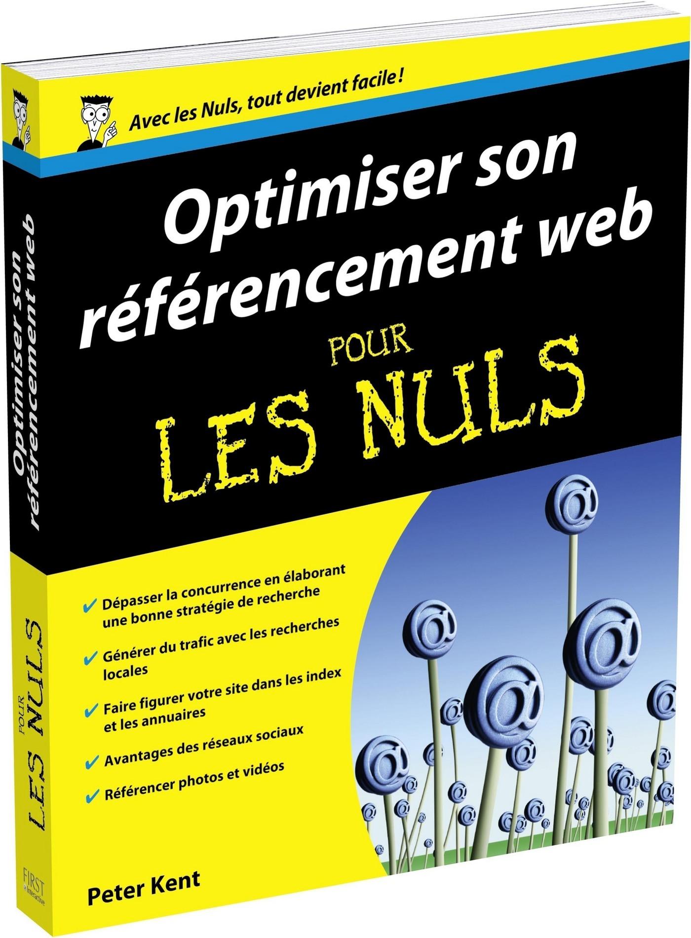 Optimiser son référencement Web Pour les Nuls (ebook)