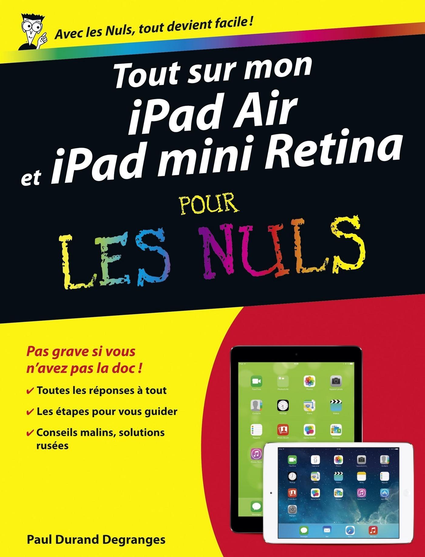 Tout sur mon iPad Air et iPad mini Retina Pour les Nuls (ebook)