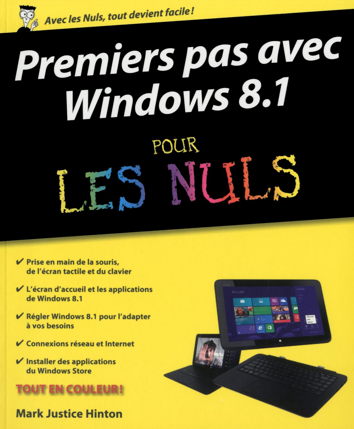 Premiers pas avec Windows 8.1 Pour les Nuls (ebook)
