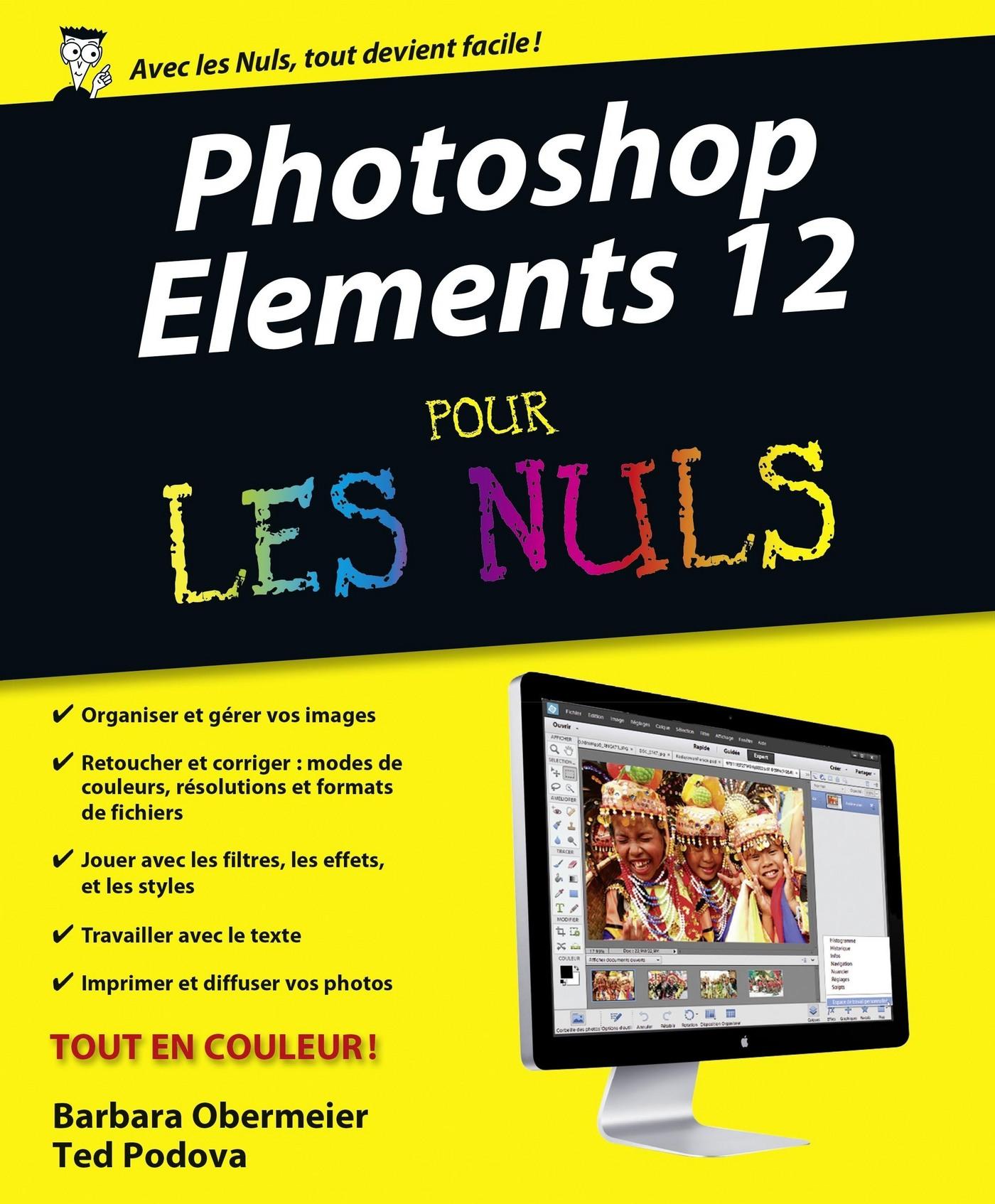 Photoshop Elements 12 Pour les Nuls (ebook)