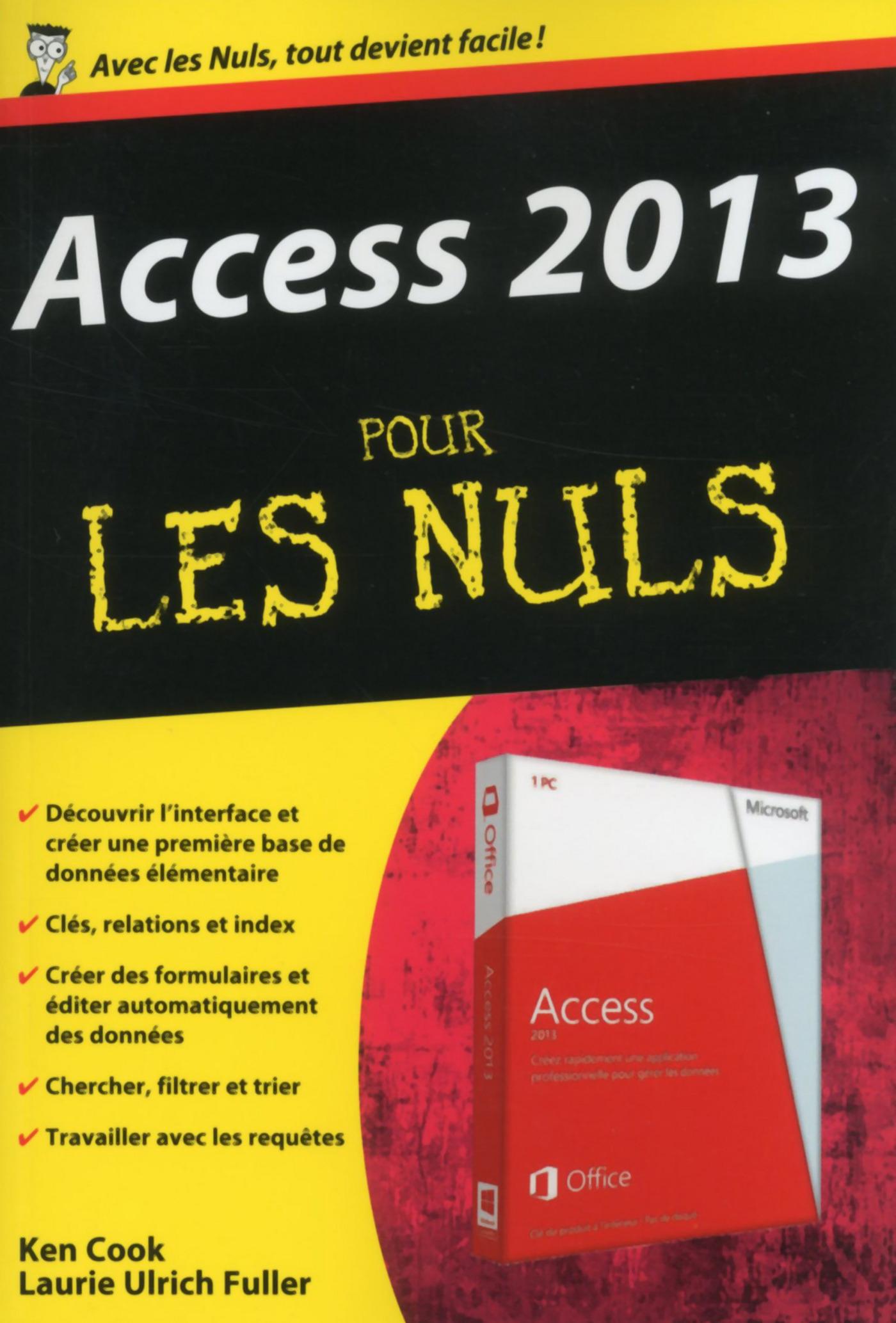 Access 2013 Pour les Nuls (ebook)
