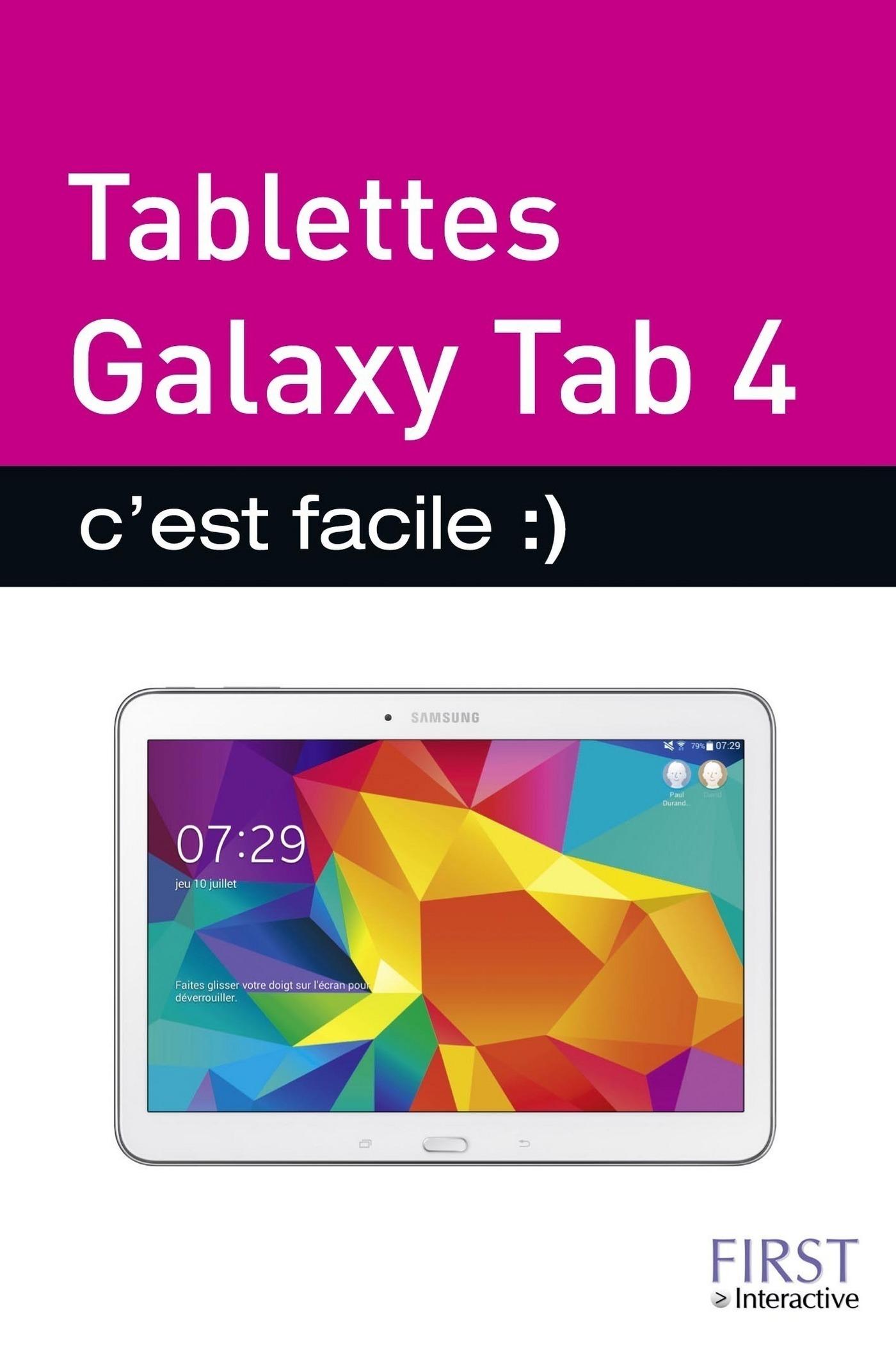 Tablettes Galaxy Tab 4 C'est facile (ebook)