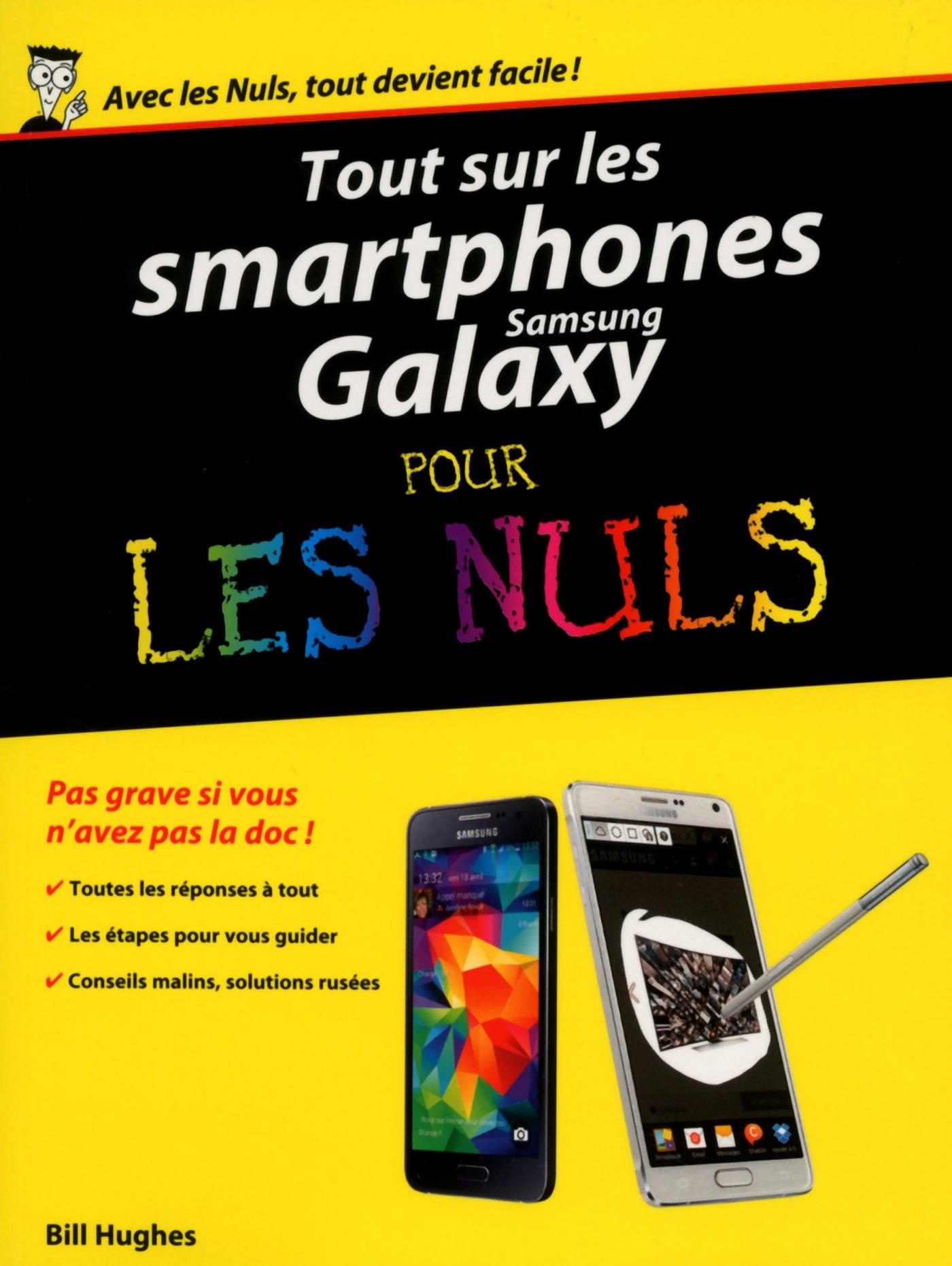 Tout sur les smartphones Samsung Galaxy pour les Nuls (ebook)