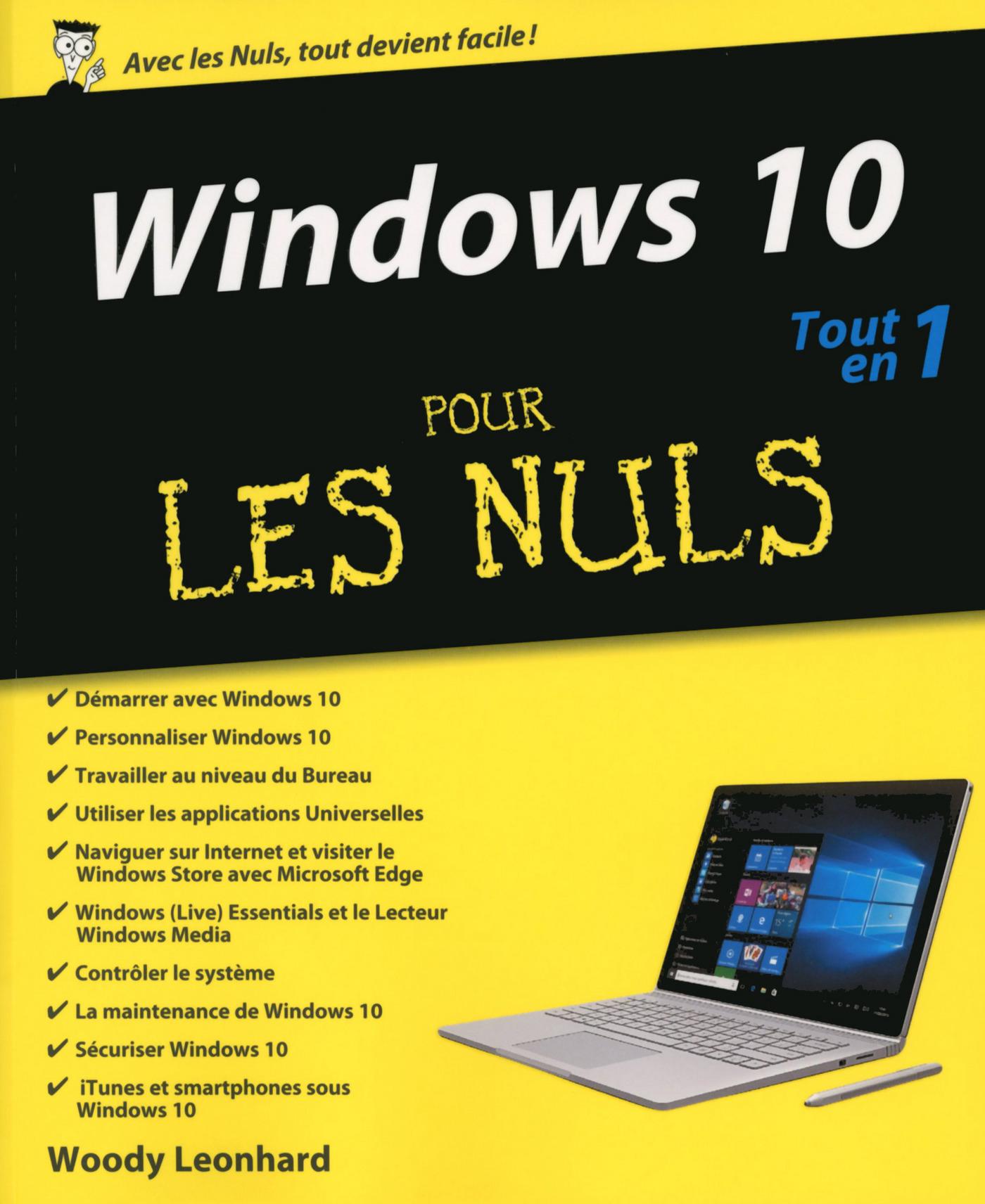 Windows 10 Tout en un Pour les Nuls (ebook)