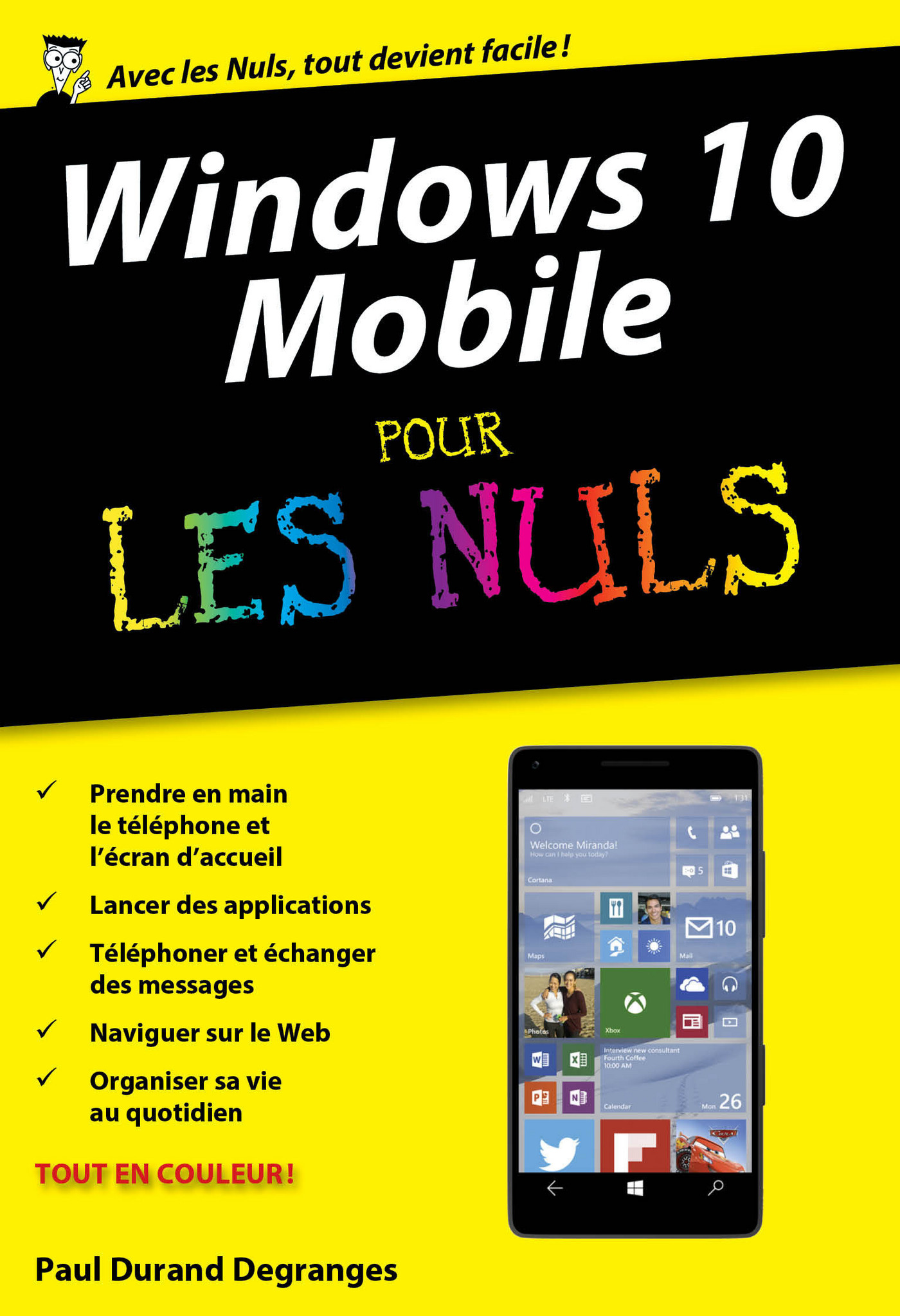 Windows 10 Mobile poche pour les Nuls (ebook)