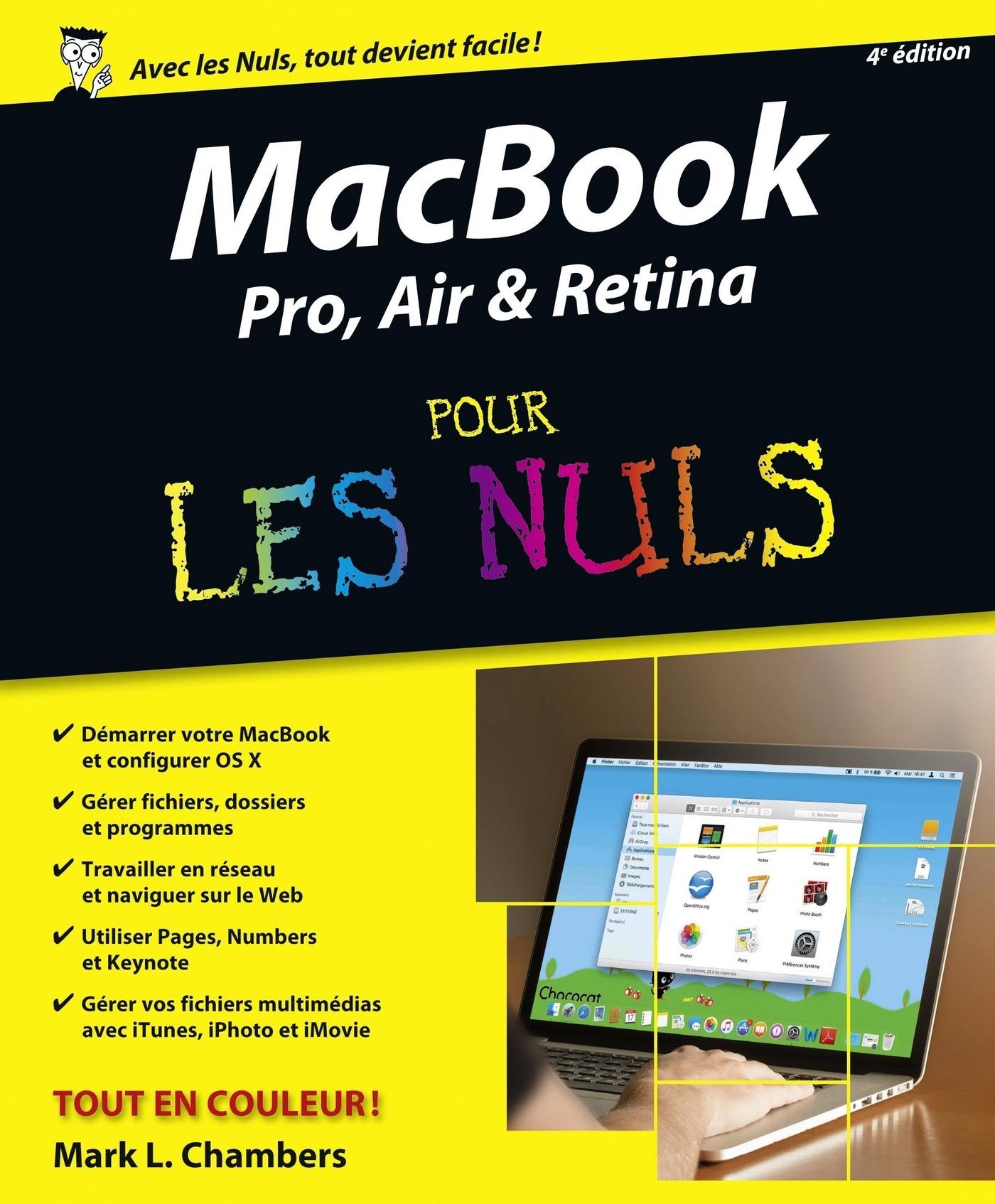 MacBook Pro, Air & Retina pour les Nuls, 4e édition (ebook)
