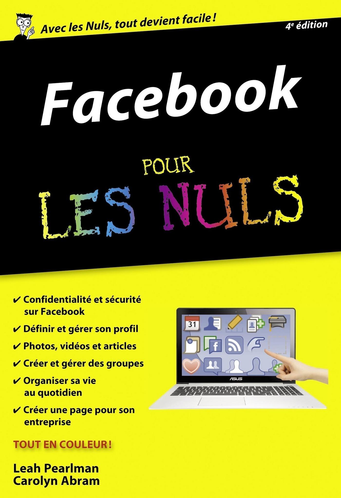 Facebook Poche Pour les Nuls, 4ème édition