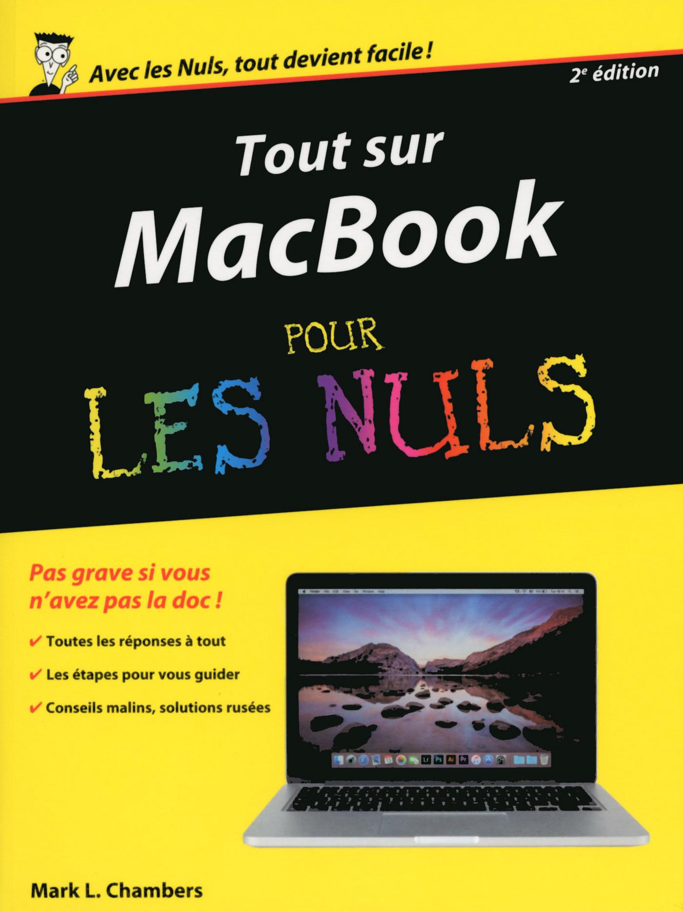 Tout sur MacBook, Pro Air retina pour les Nuls, 2e édition (ebook)