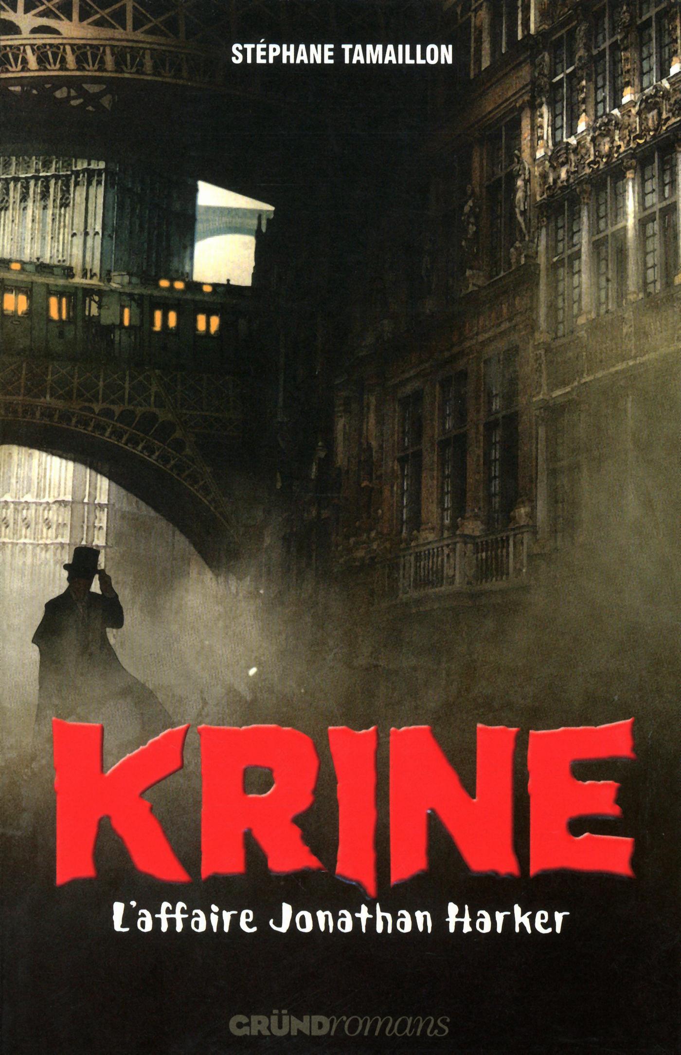 KRINE L'AFFAIRE JONATHAN HARKER