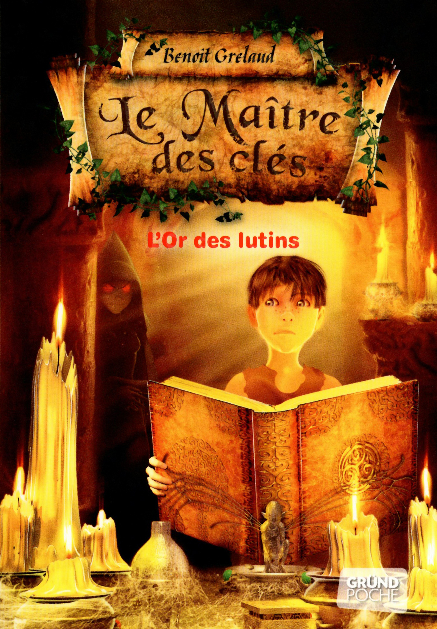 Le Maître des clés, tome 2 - L'or des lutins (ebook)