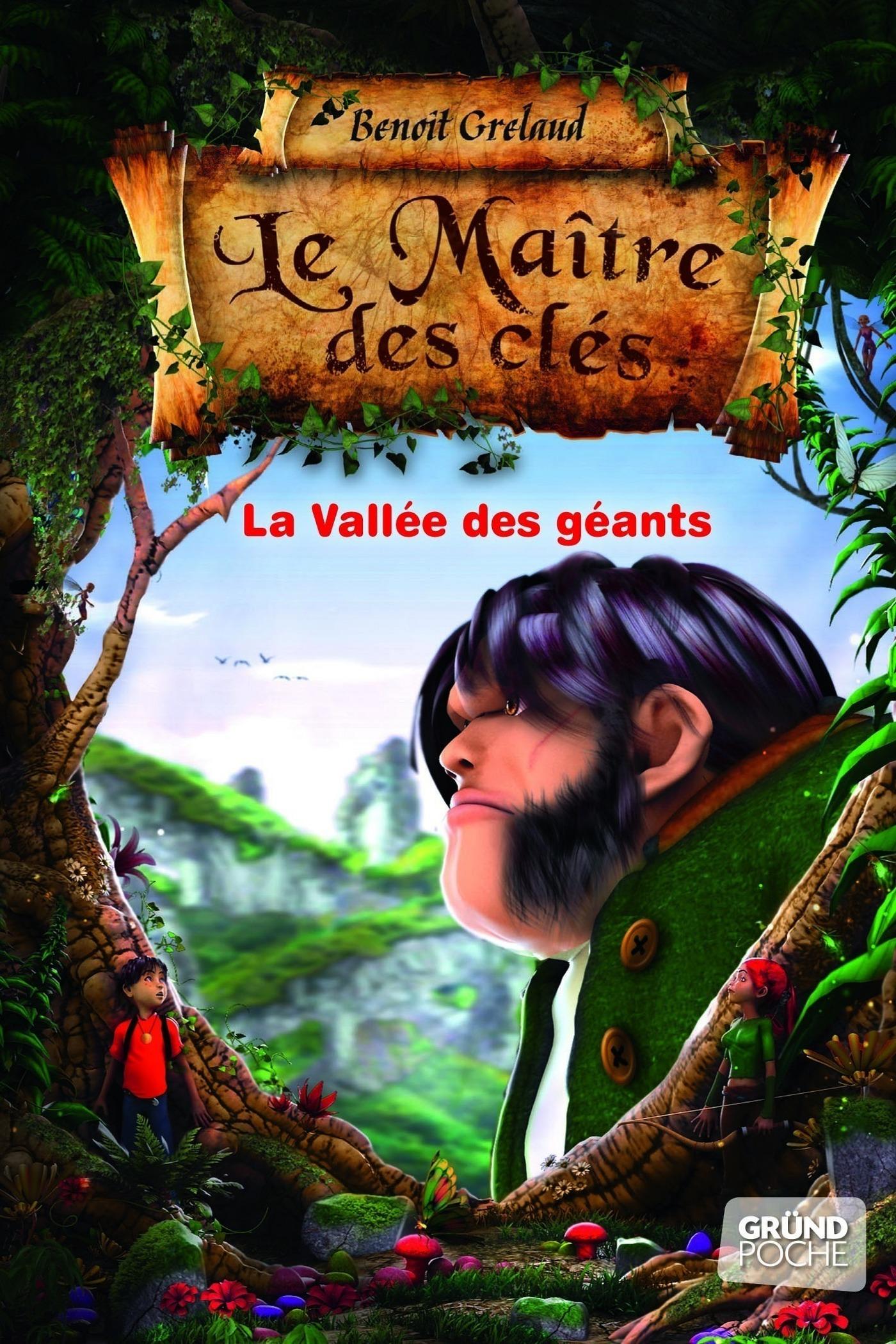 Le Maître des cles - Tome 5 : La vallée des géants (ebook)