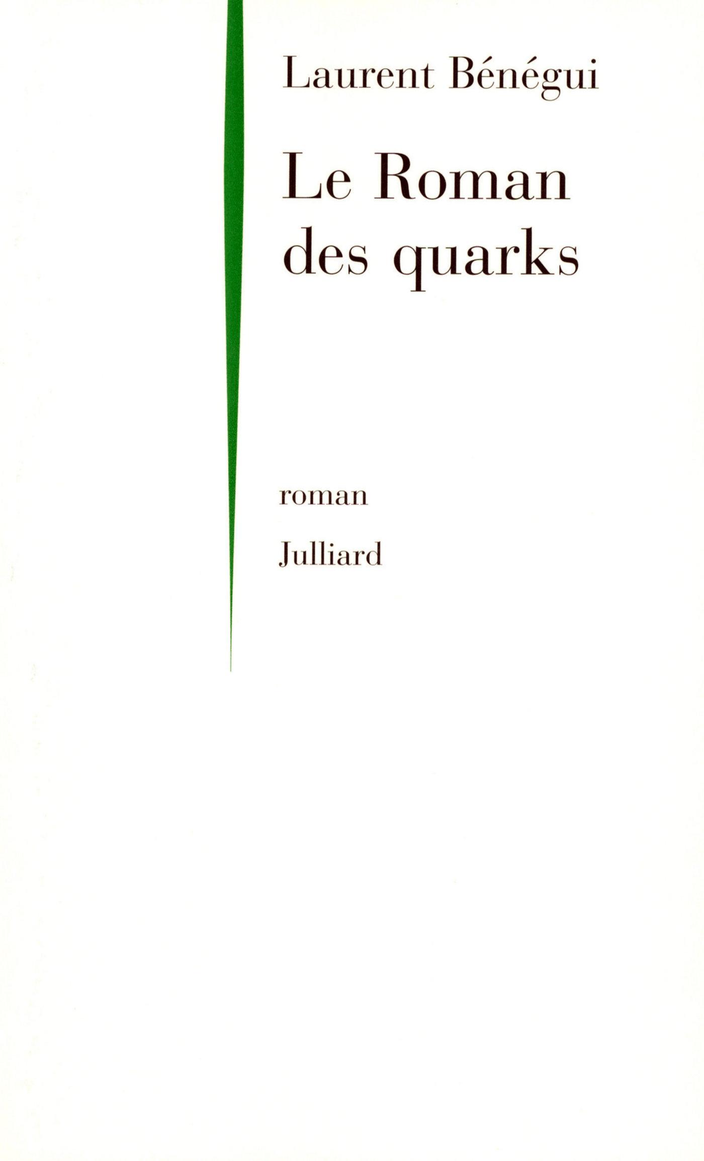 Le roman des quarks