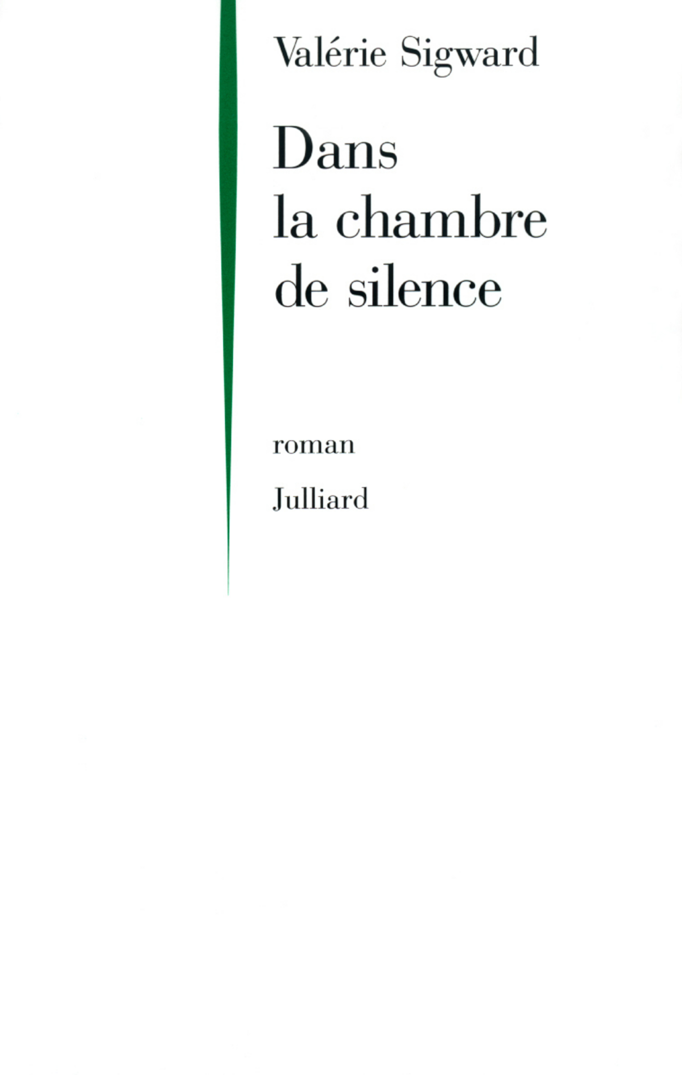 Dans la chambre de silence (ebook)