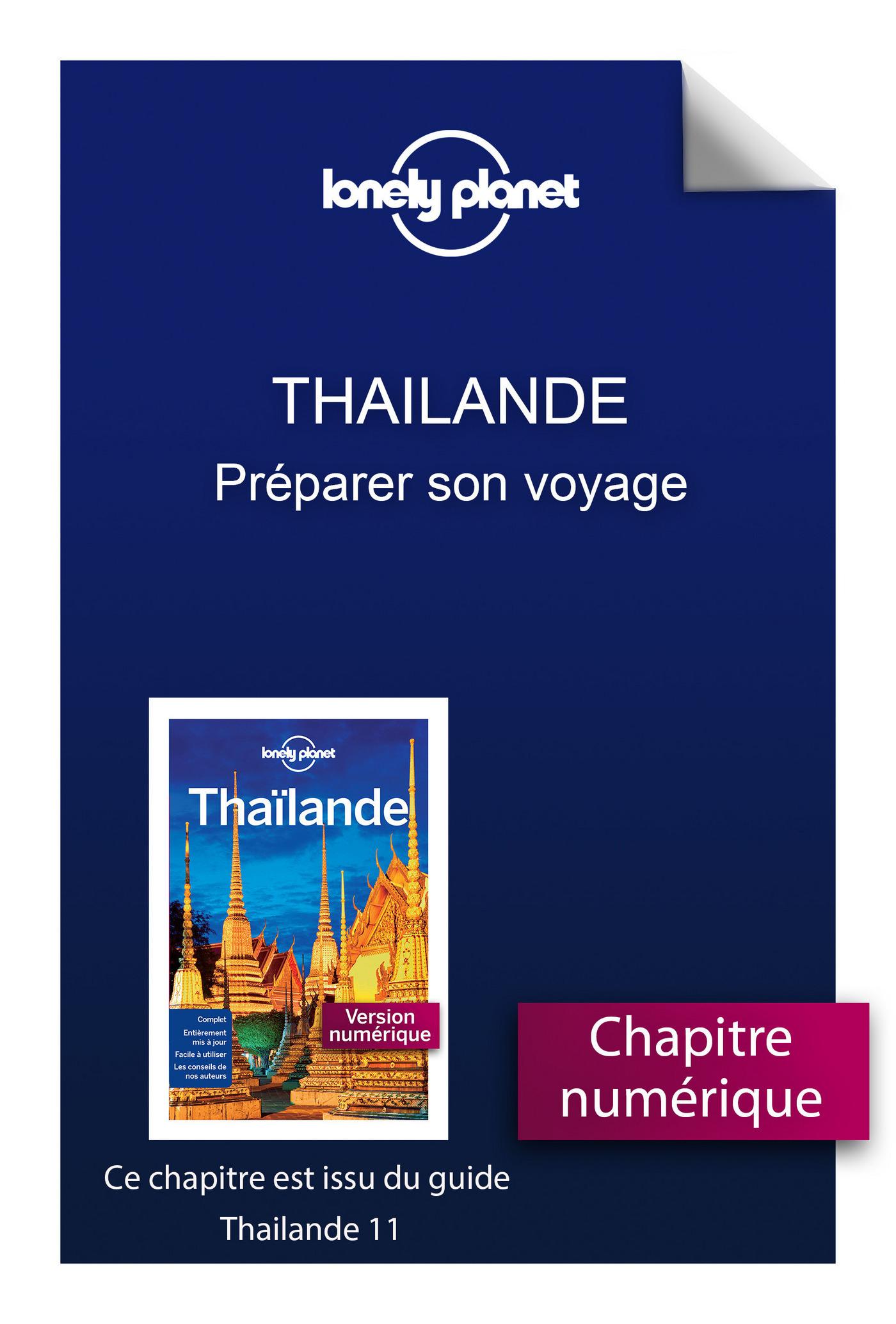 Thailande 11 - Préparer son voyage