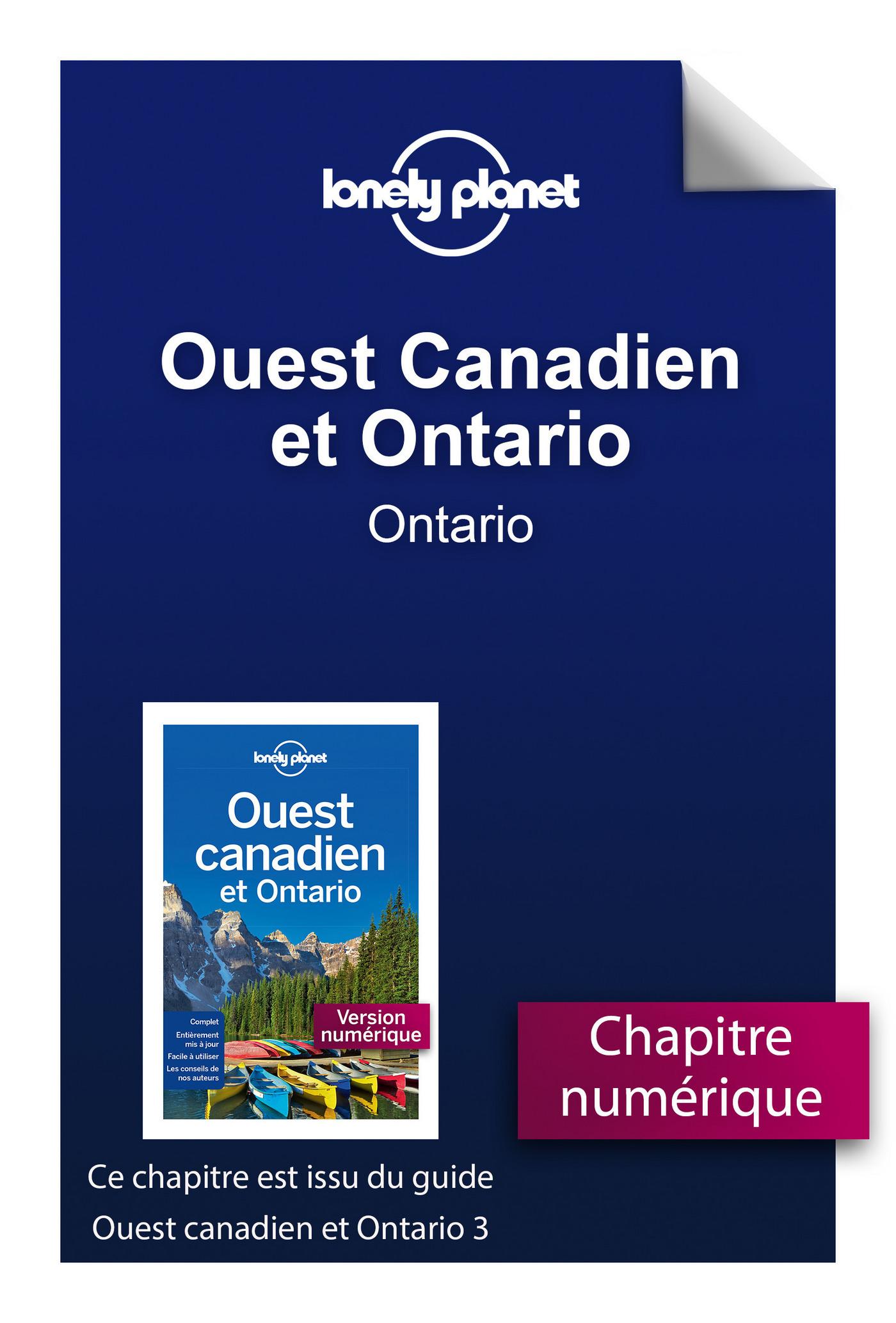 Ouest Canadien et Ontario 3 - Ontario
