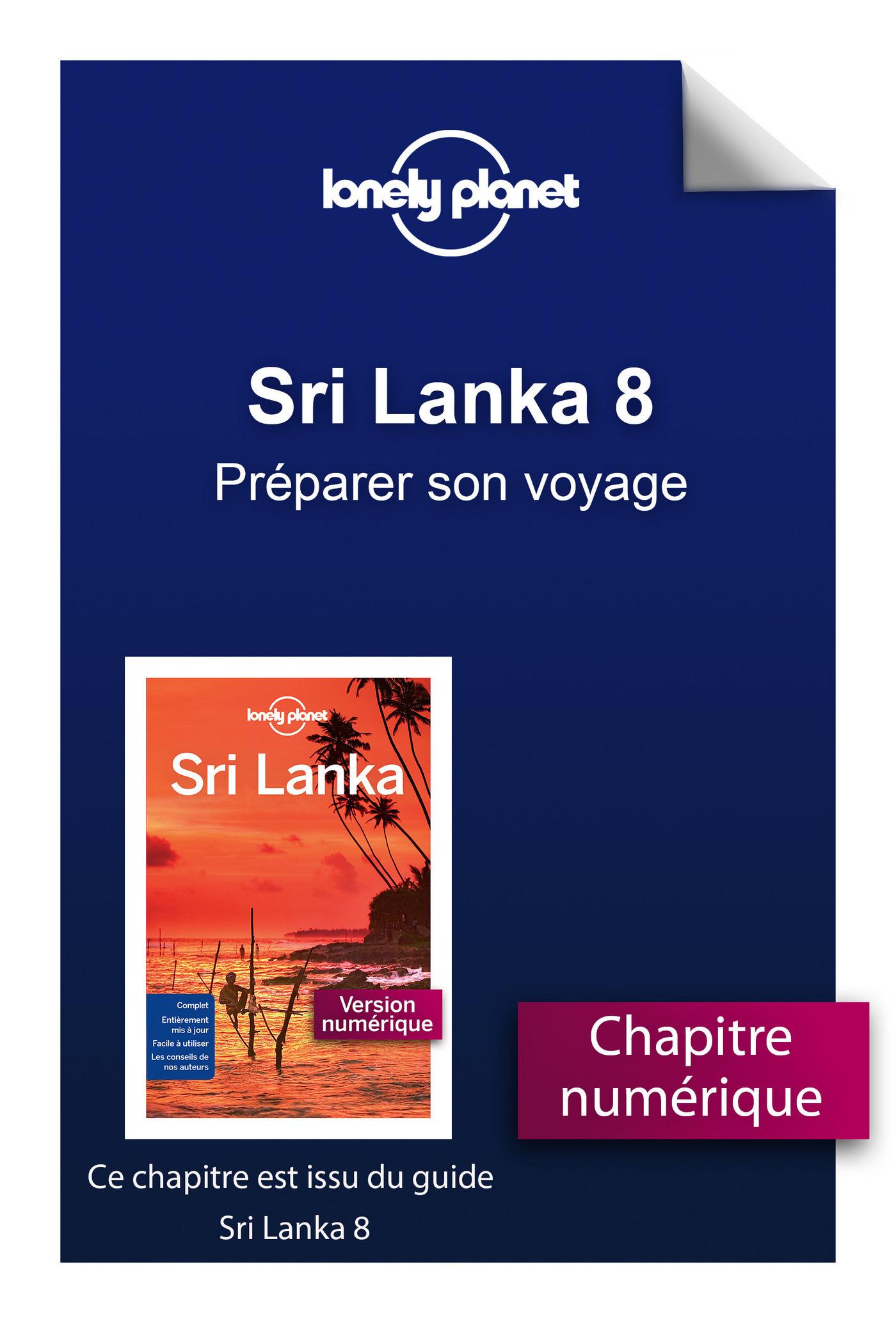 Sri Lanka 8 - Préparer son voyage