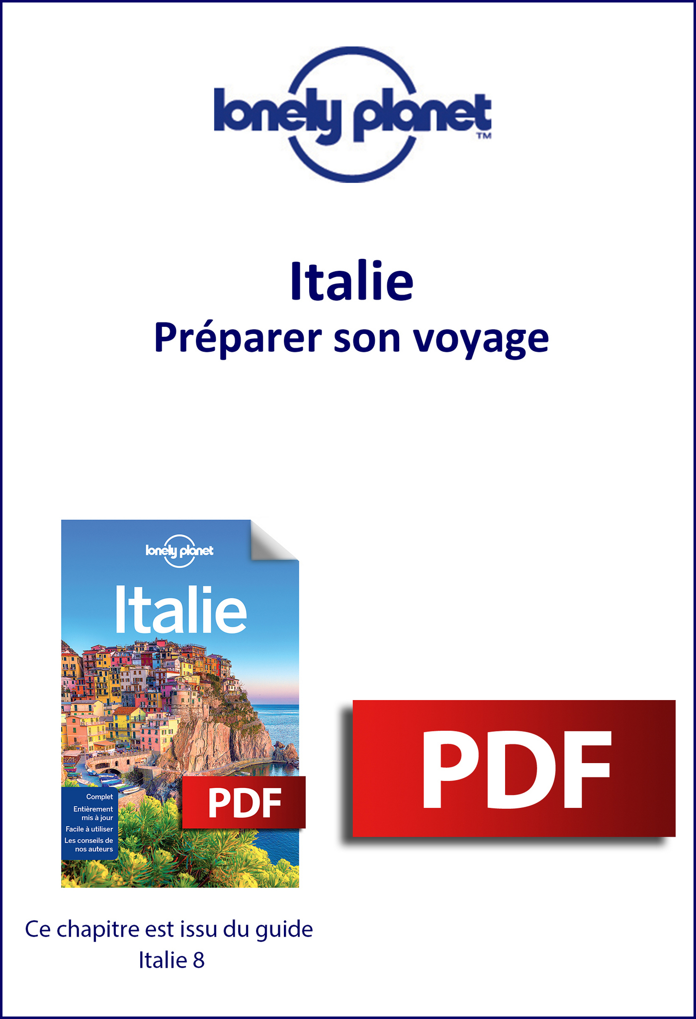 Italie - Préparer son voyage