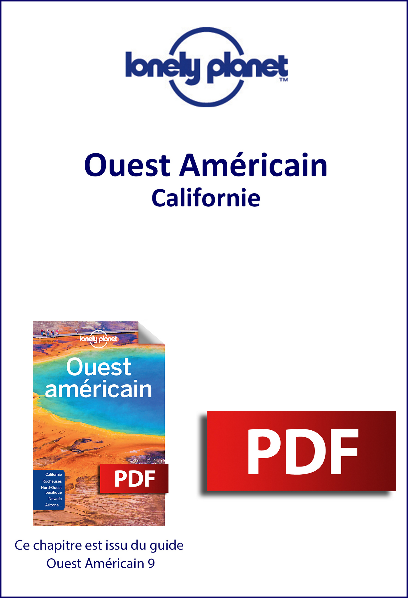 Ouest Américain - Californie