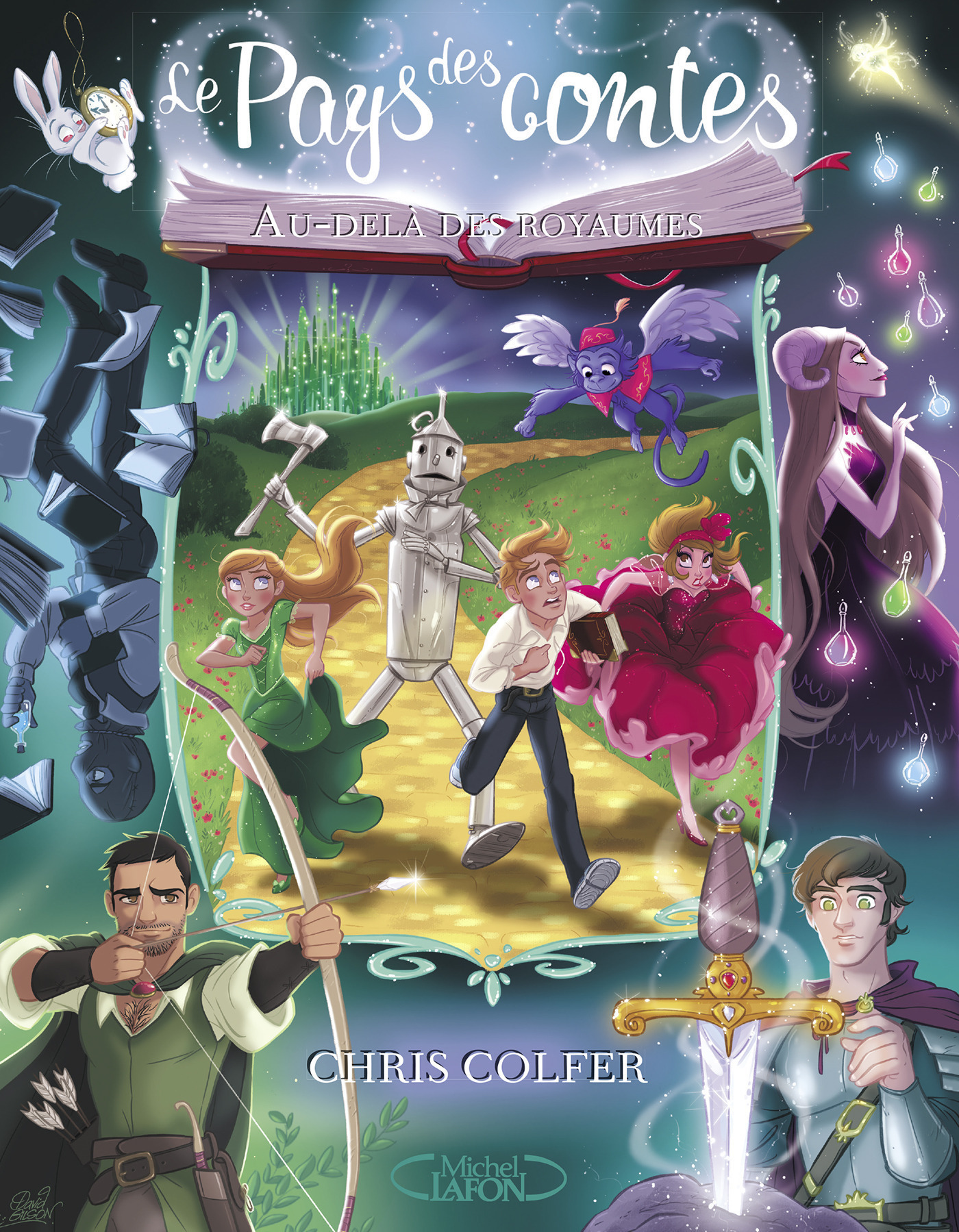 Le pays des contes au delà des royaumes (ebook)