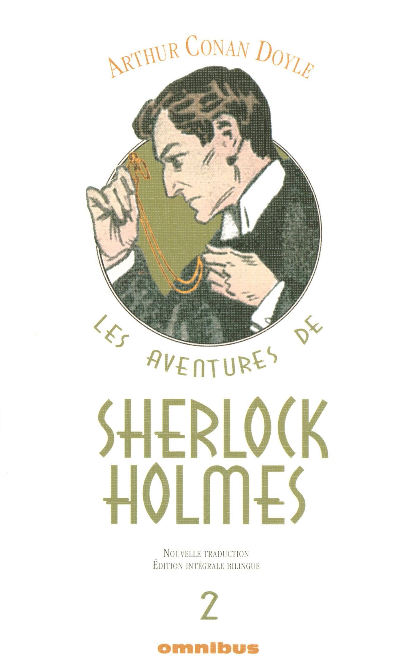 Les Aventures de Sherlock Holmes Tome 2