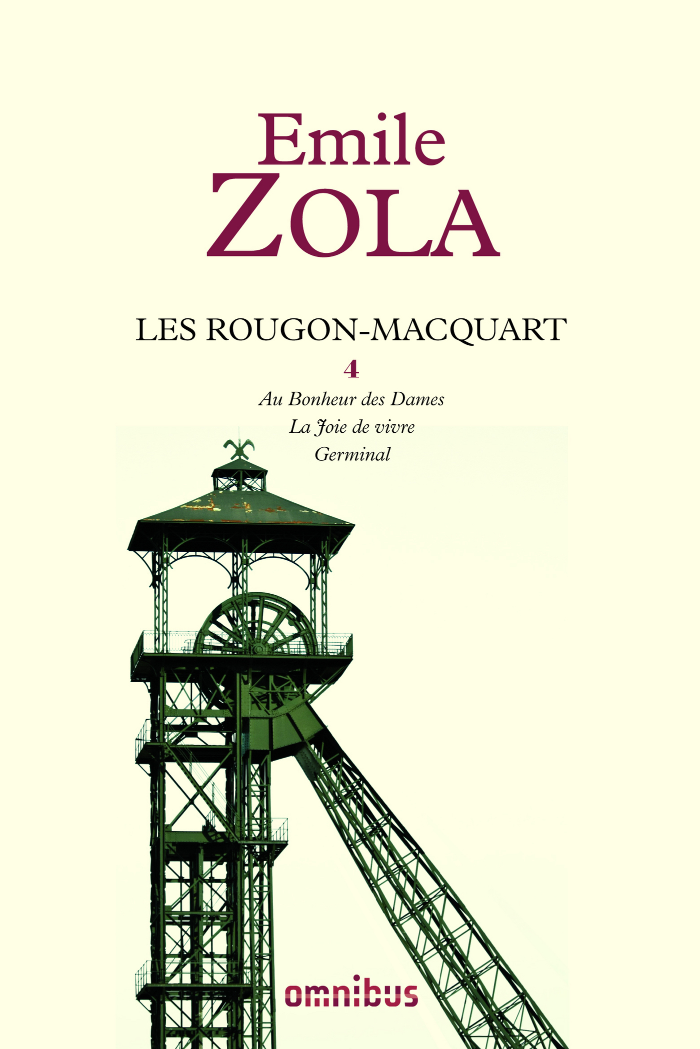 Les Rougon-Macquart, tome 4