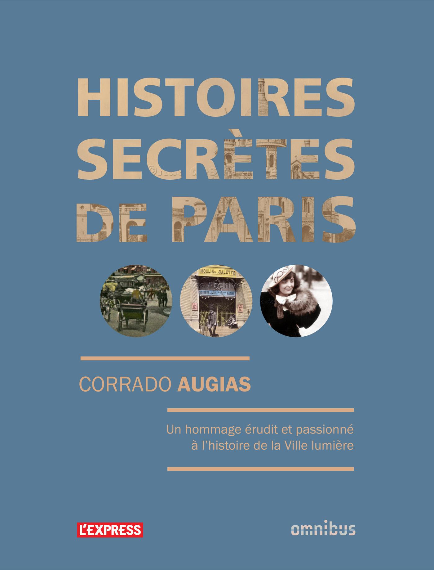 Histoires secrètes de Paris (ebook)
