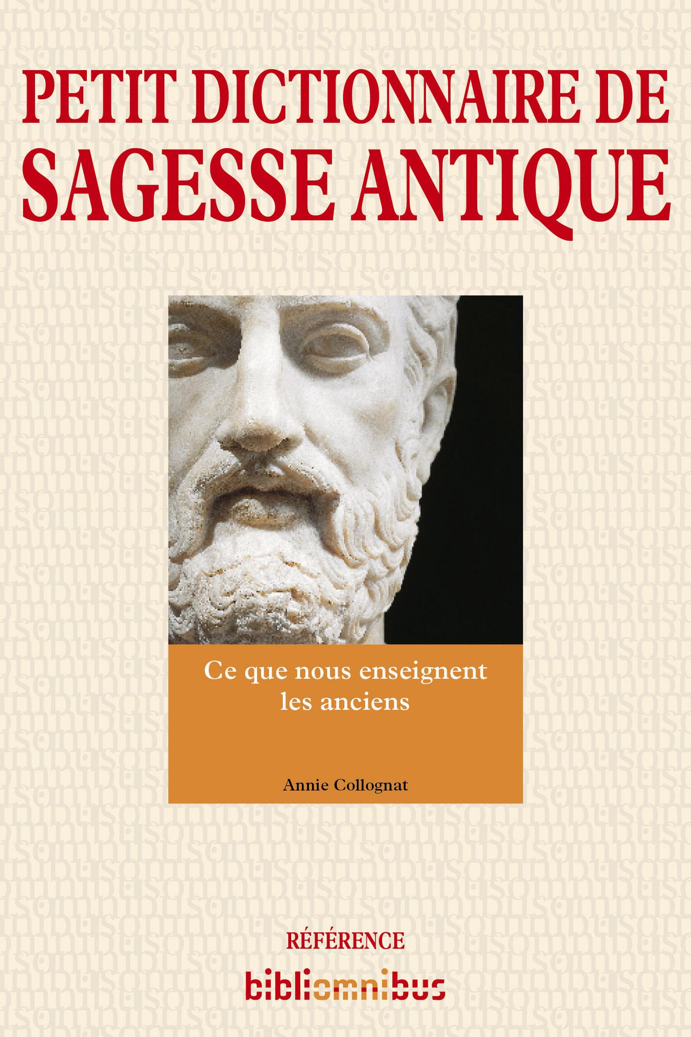 Petit dictionnaire de sagesse antique (ebook)
