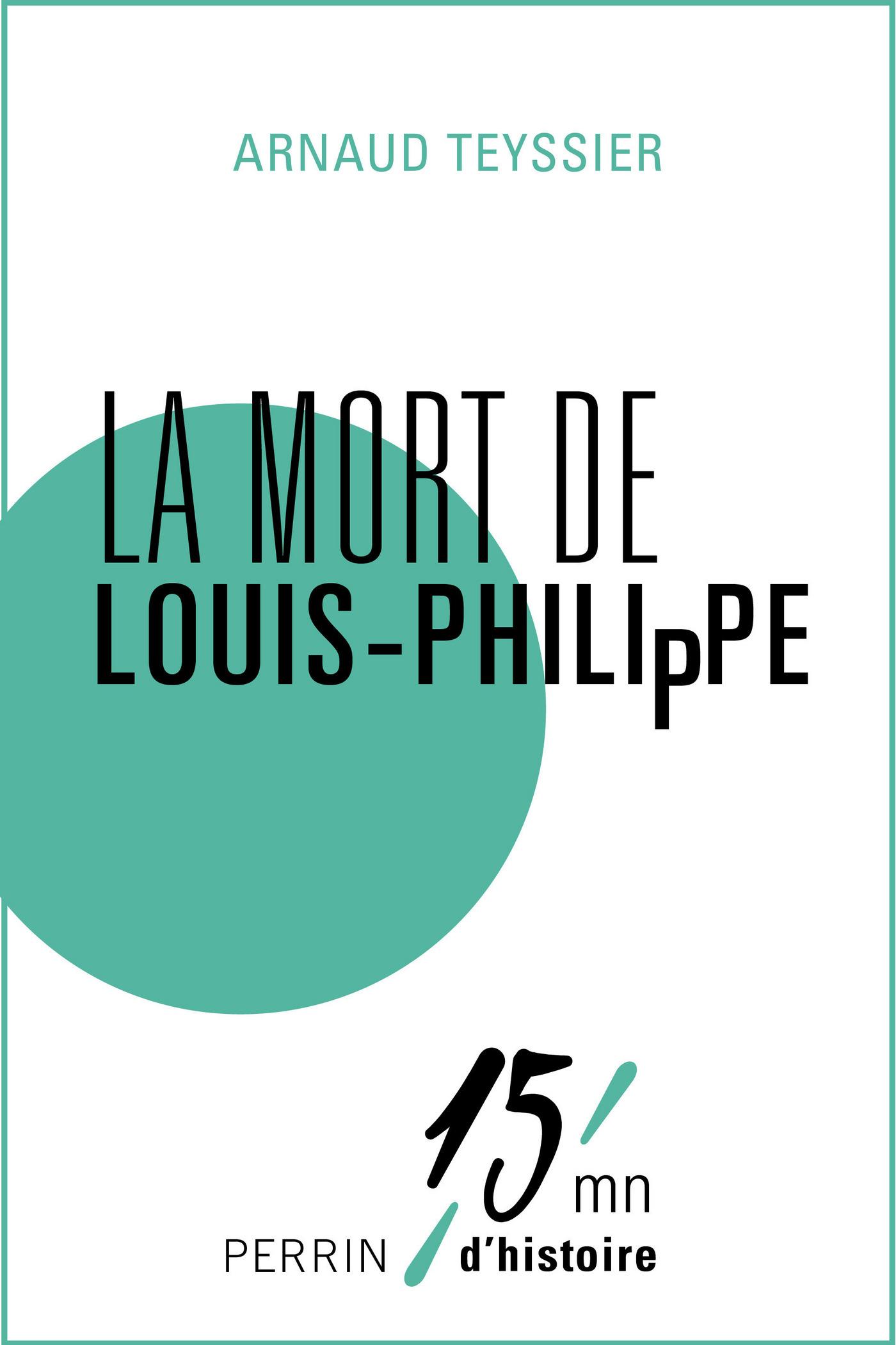 La mort de Louis-Philippe (ebook)